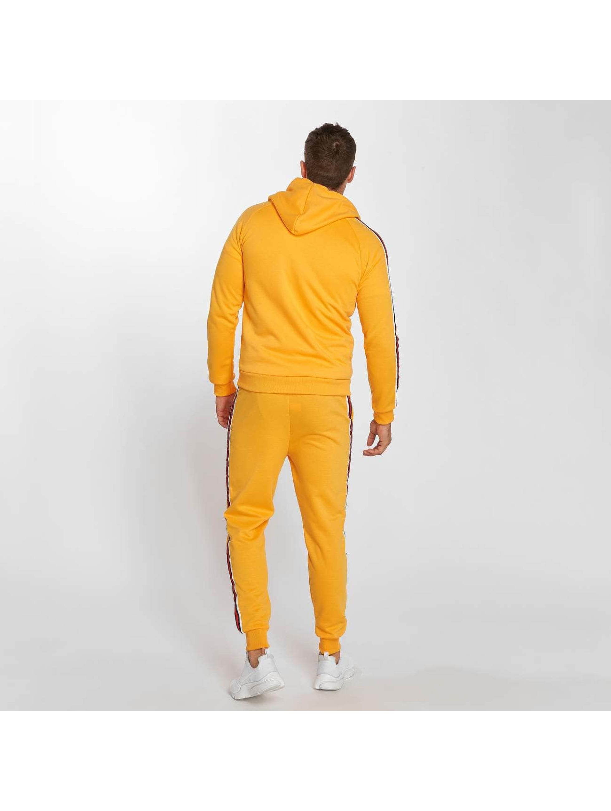 Aarhon Suits Coloured Stripes orange