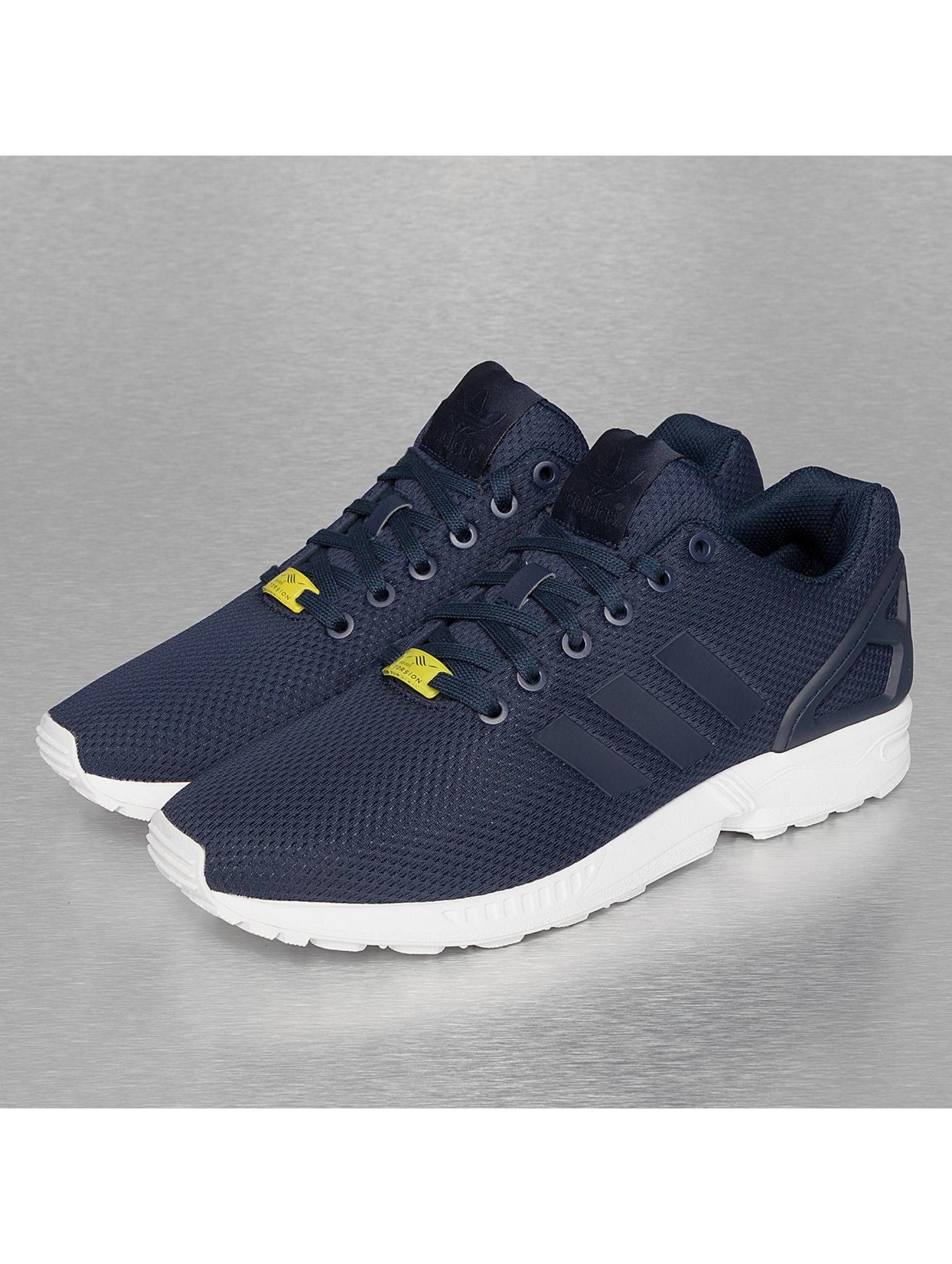 adidas chaussures / baskets zx flux en bleu