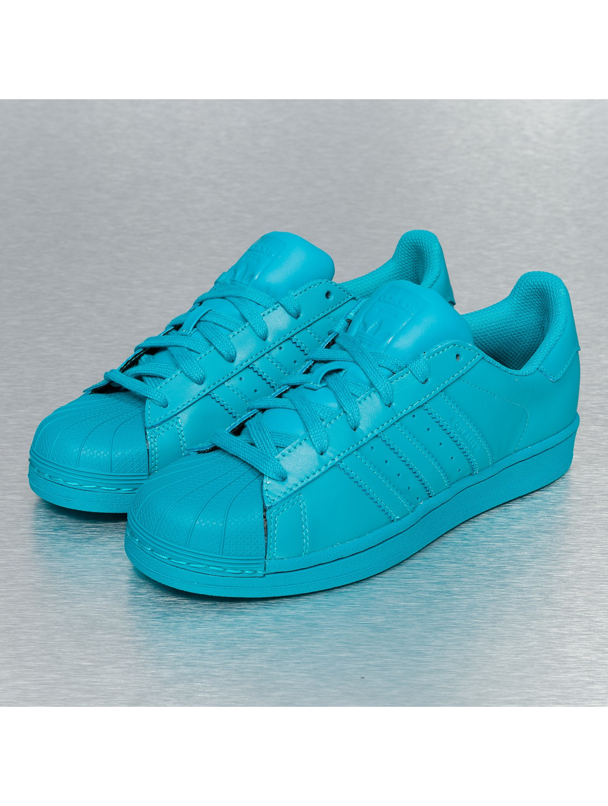adidas superstar bleu turquoise