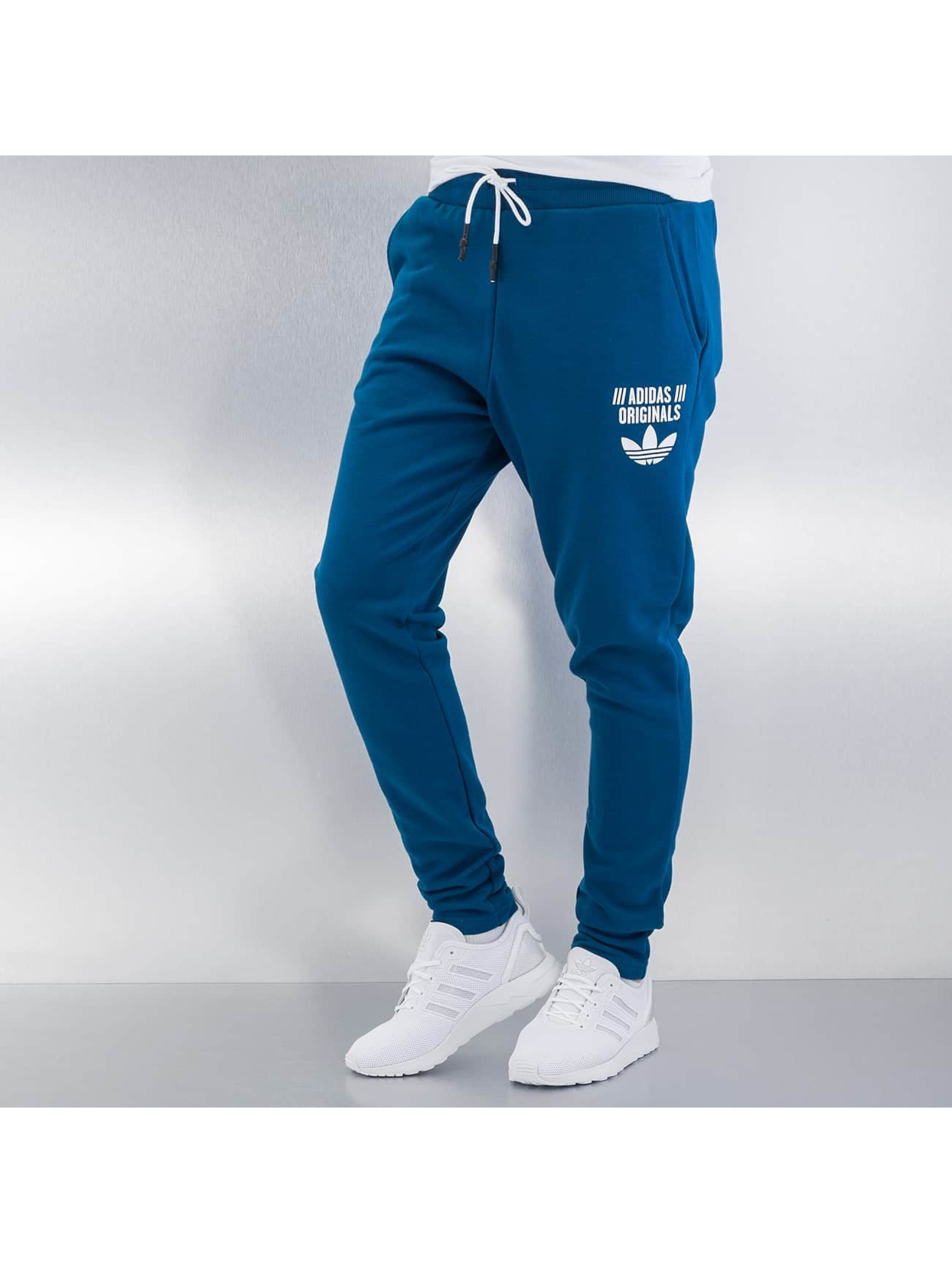 adidas jogginghose lowcrotch cu track in blau 263682. Black Bedroom Furniture Sets. Home Design Ideas