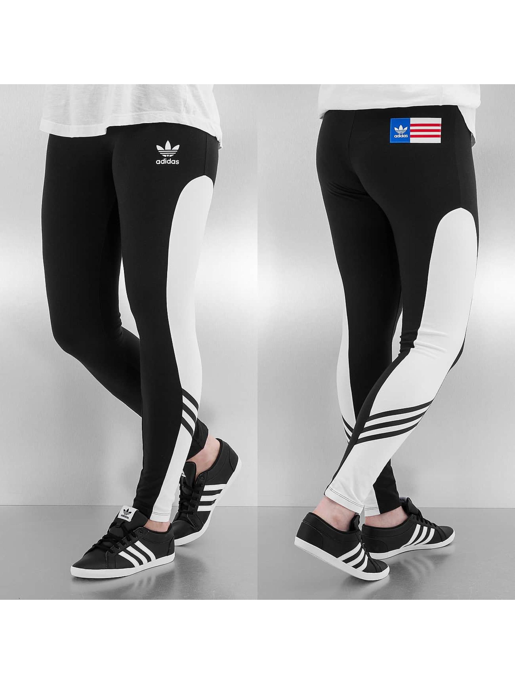 adidas hose legging pp leggings in schwarz 231351. Black Bedroom Furniture Sets. Home Design Ideas