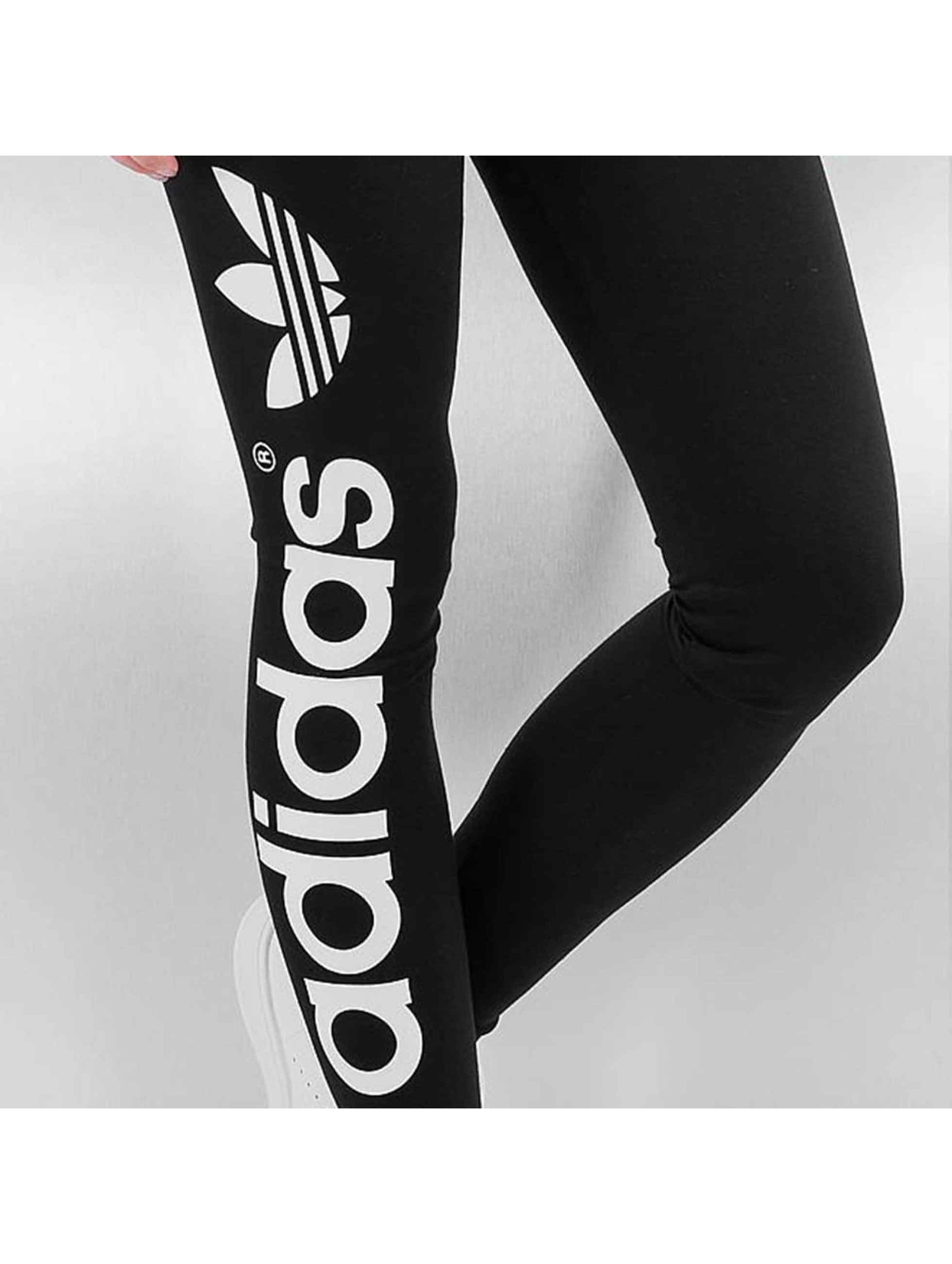 adidas Leggings/Treggings Linear black