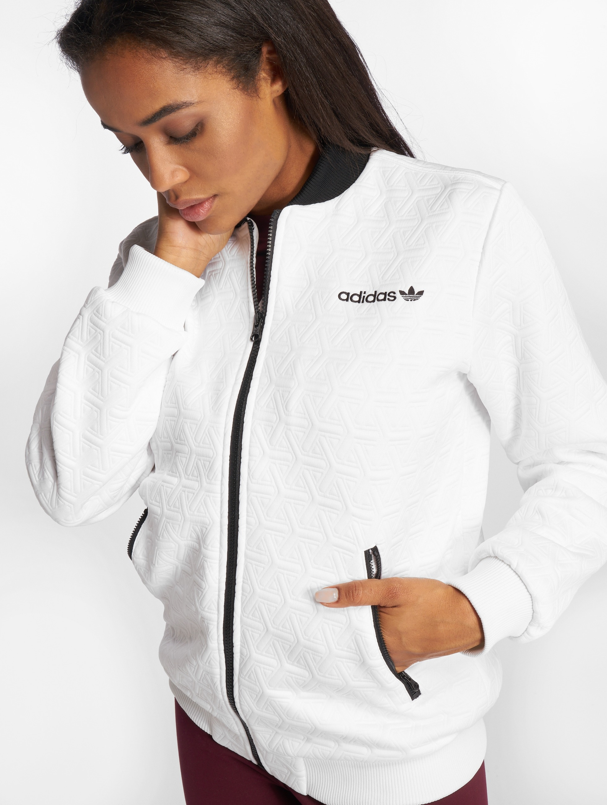 adidas originals Bomber jacket Bomber Track Top white