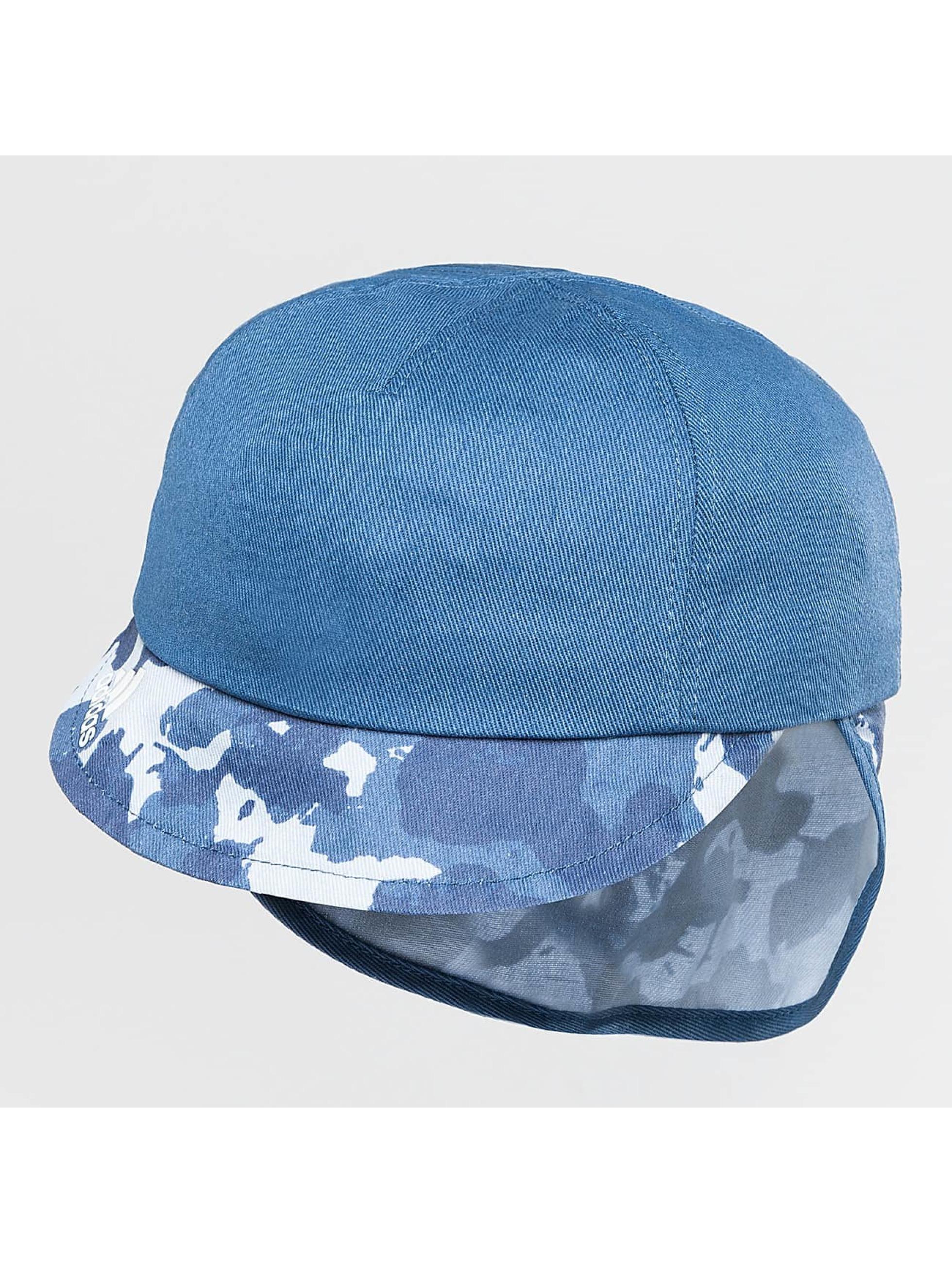 adidas originals Cap   Fitted Cap Neck Flap in blauw 327331 9959c515173