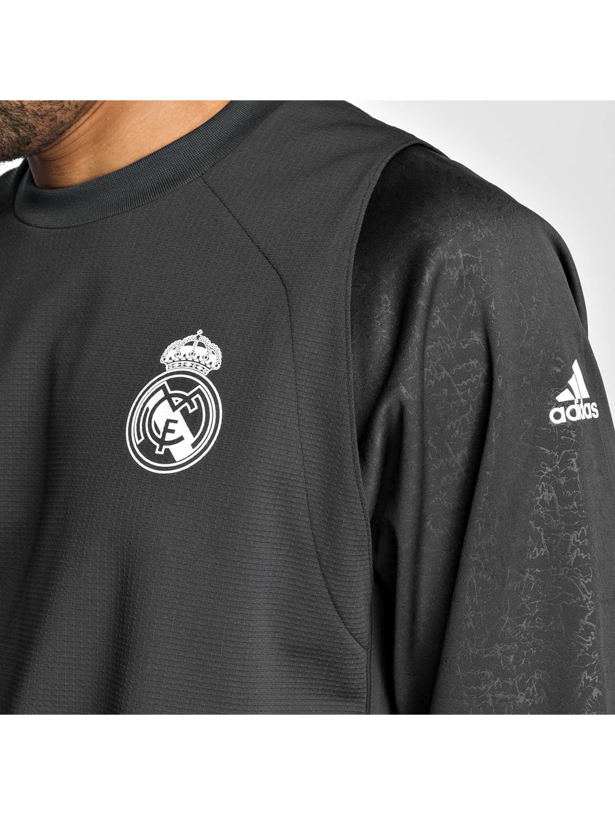 adidas originals Longsleeve Real Madrid gray
