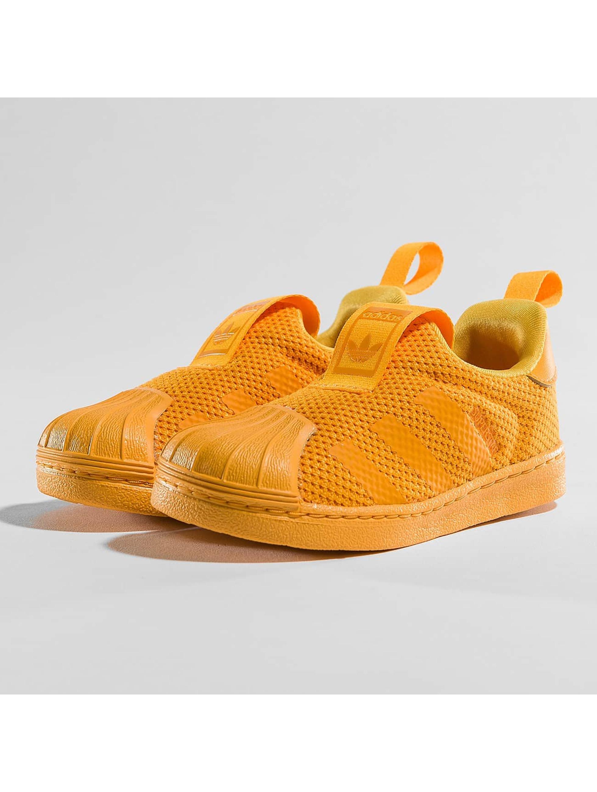 7945463aca adidas originals Kinder Sneaker Superstar 360 SC in orange 369351