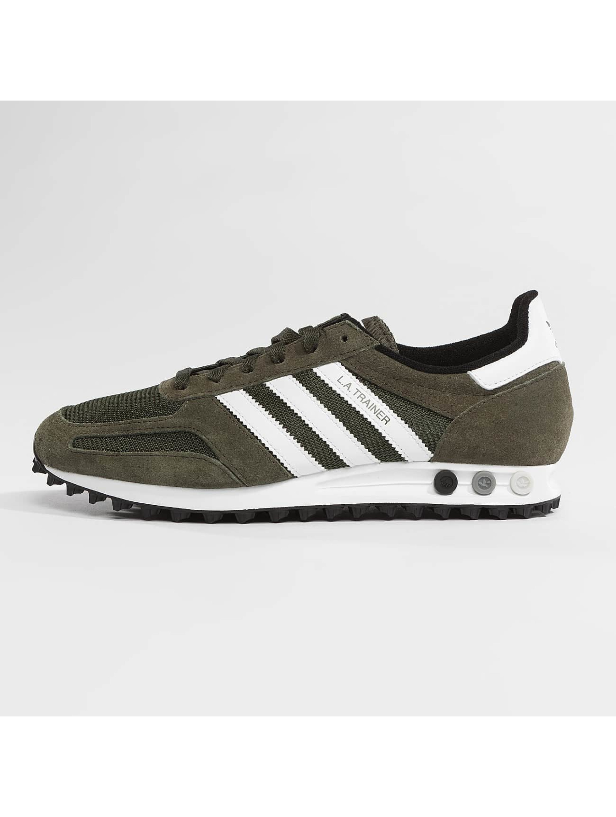 adidas originals Sneakers LA Trainer OG green