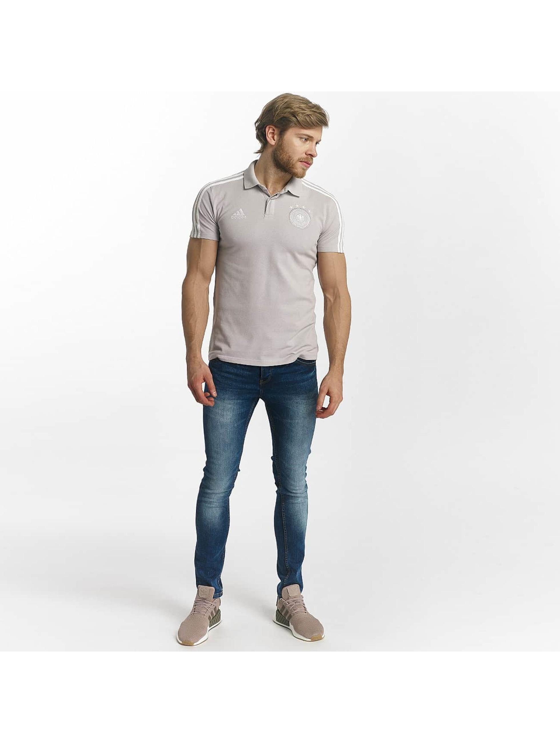 adidas Performance Poloshirt DFB Cotton gray
