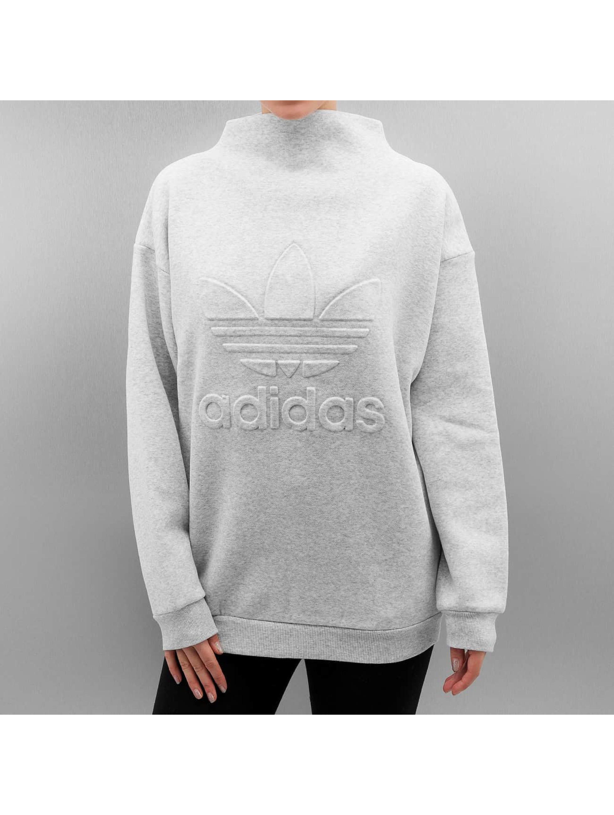 adidas pullover sweatshirt in grau 302494. Black Bedroom Furniture Sets. Home Design Ideas