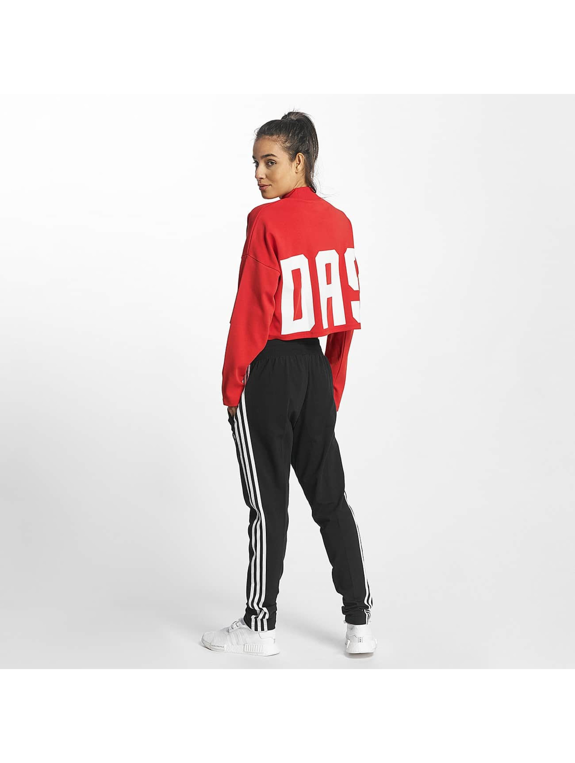 adidas Pullover Croppped High Neck red