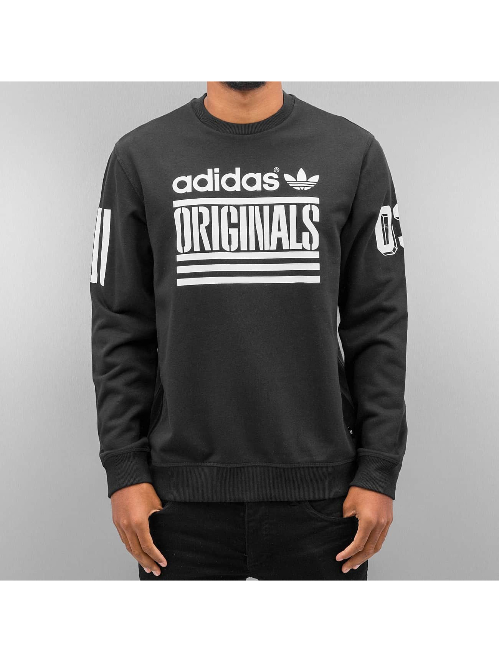 adidas pullover graphic fz in schwarz 262338. Black Bedroom Furniture Sets. Home Design Ideas