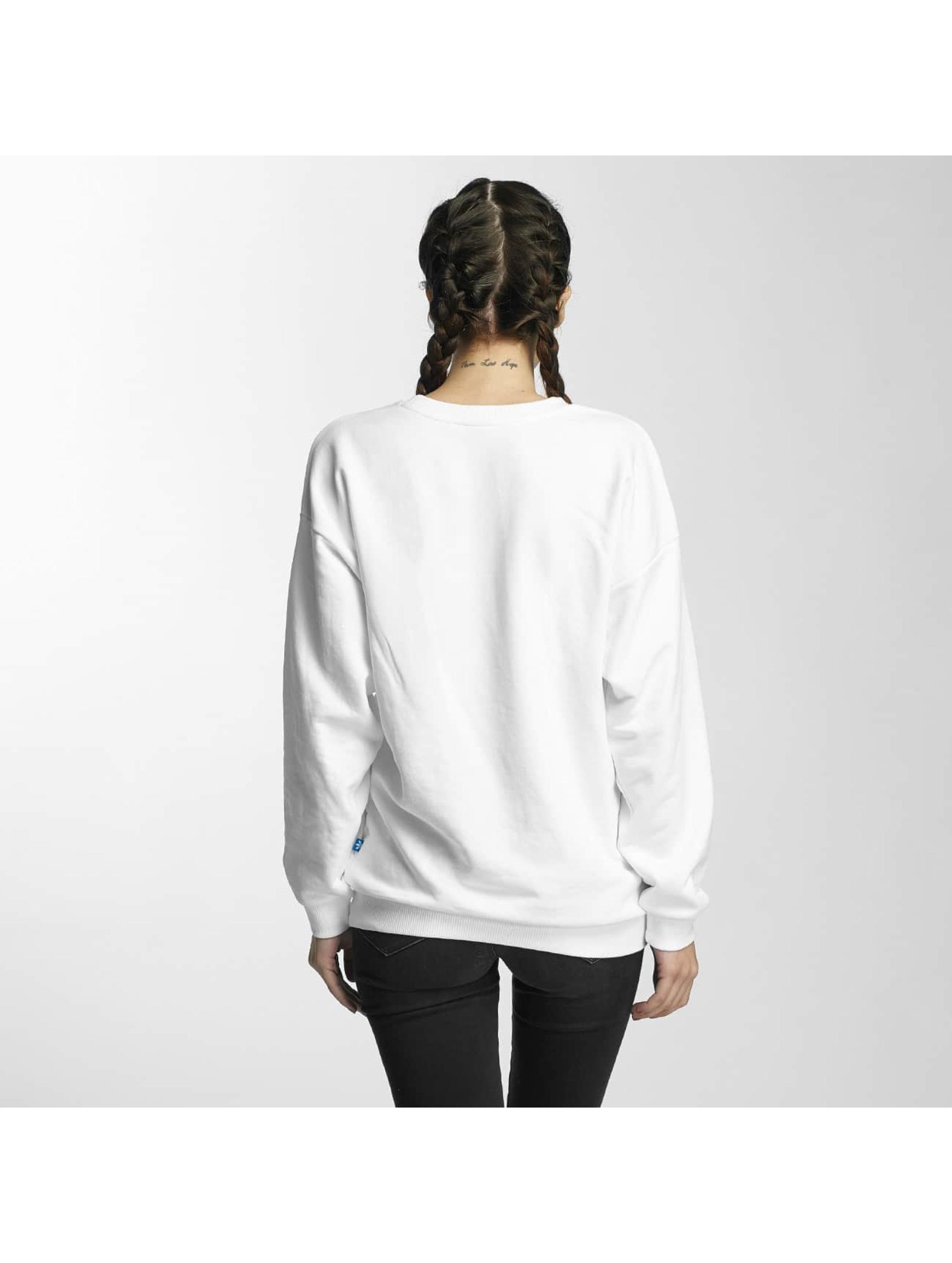 adidas Pullover Trefoil white