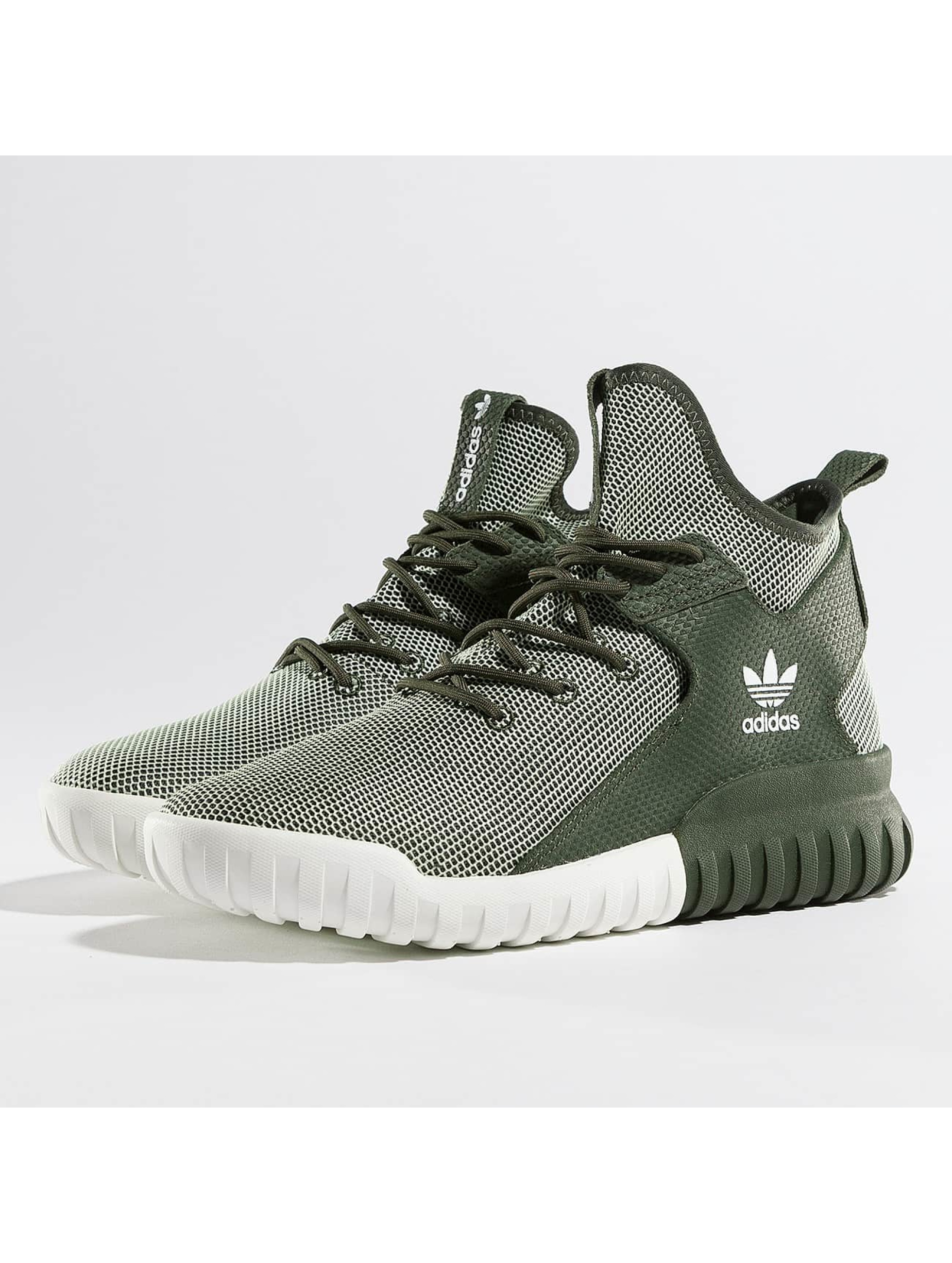 adidas herren sneaker tubular x night in olive 316984. Black Bedroom Furniture Sets. Home Design Ideas