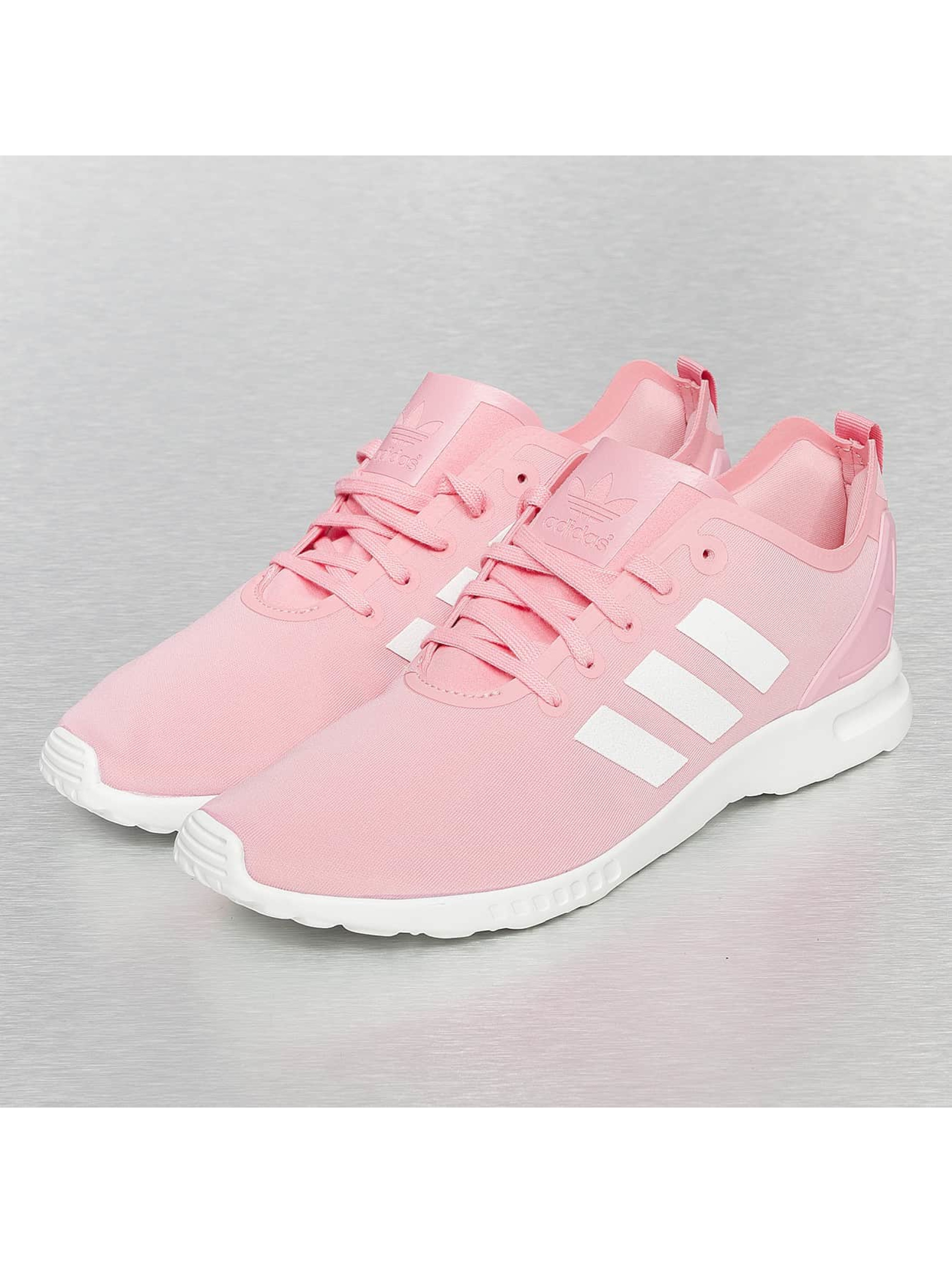 adidas schuhe sneaker zx flux in pink 175059. Black Bedroom Furniture Sets. Home Design Ideas