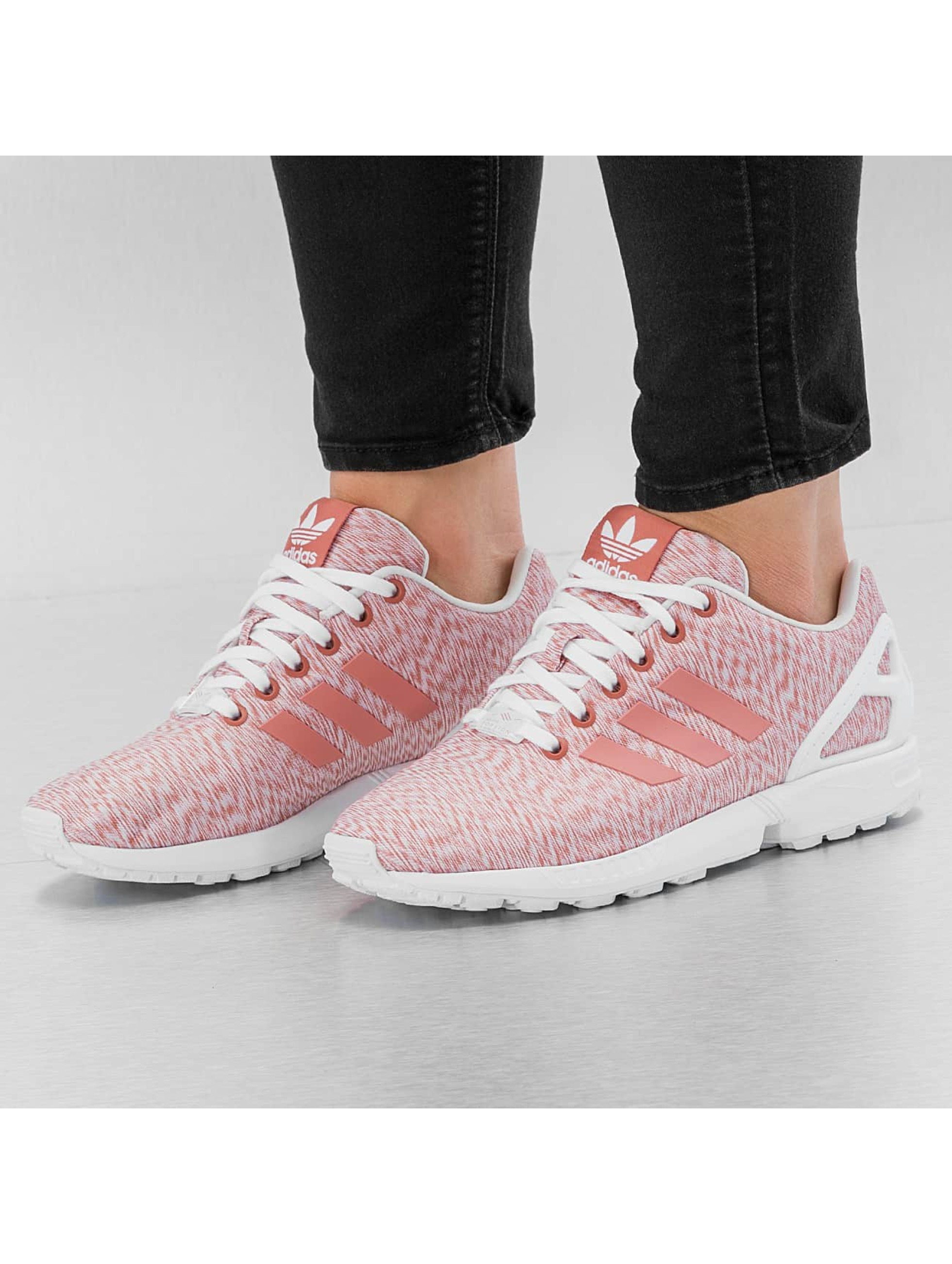 zx flux adidas pink