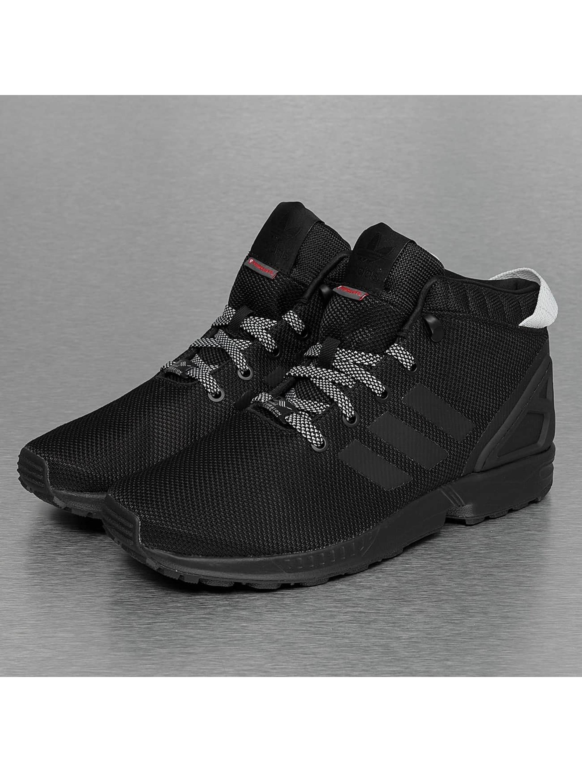 adidas zx flux schwarz mit blumen pragmaticus. Black Bedroom Furniture Sets. Home Design Ideas