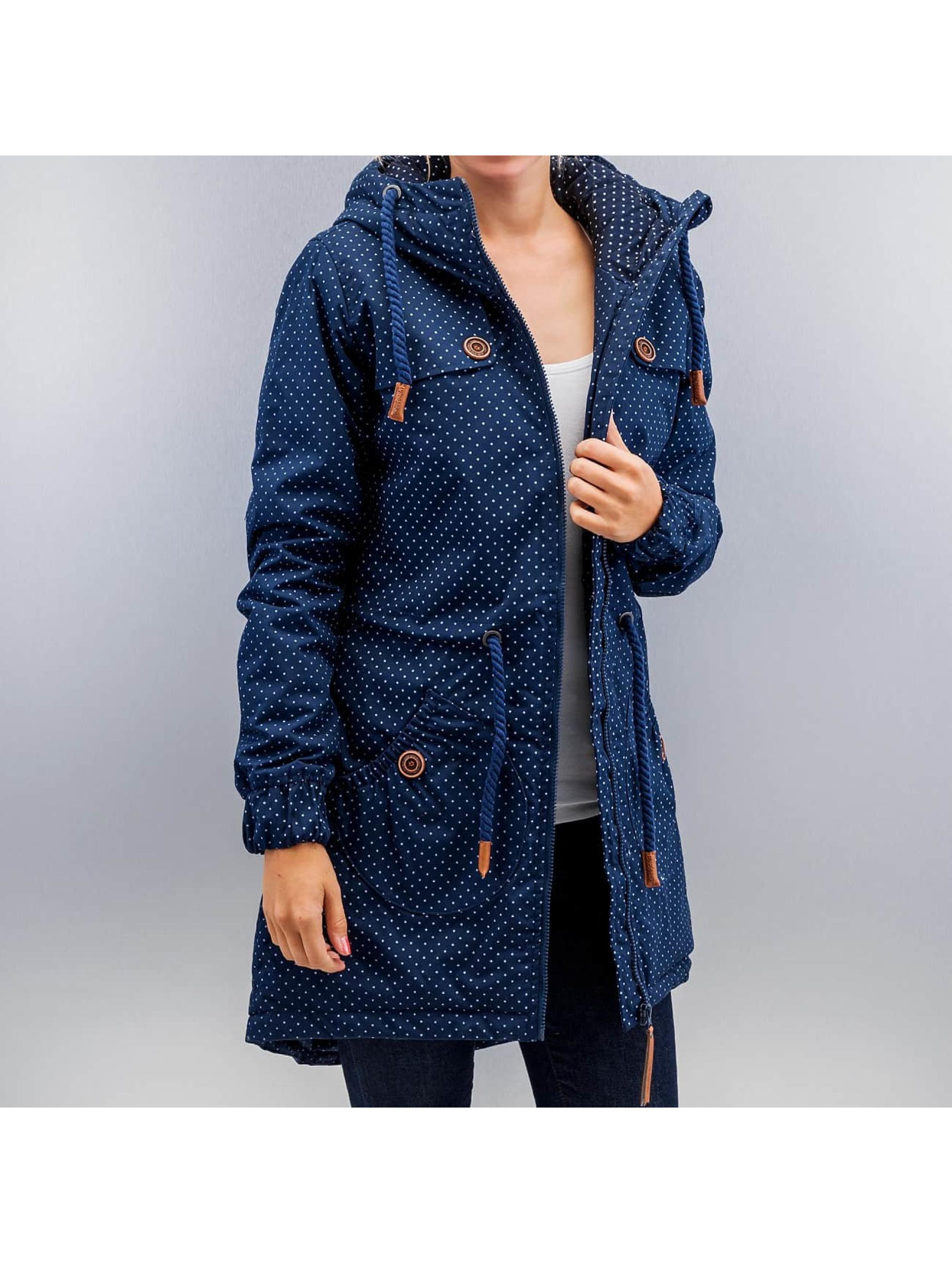 alife kickin veste blouson manteau charlotte a en bleu. Black Bedroom Furniture Sets. Home Design Ideas