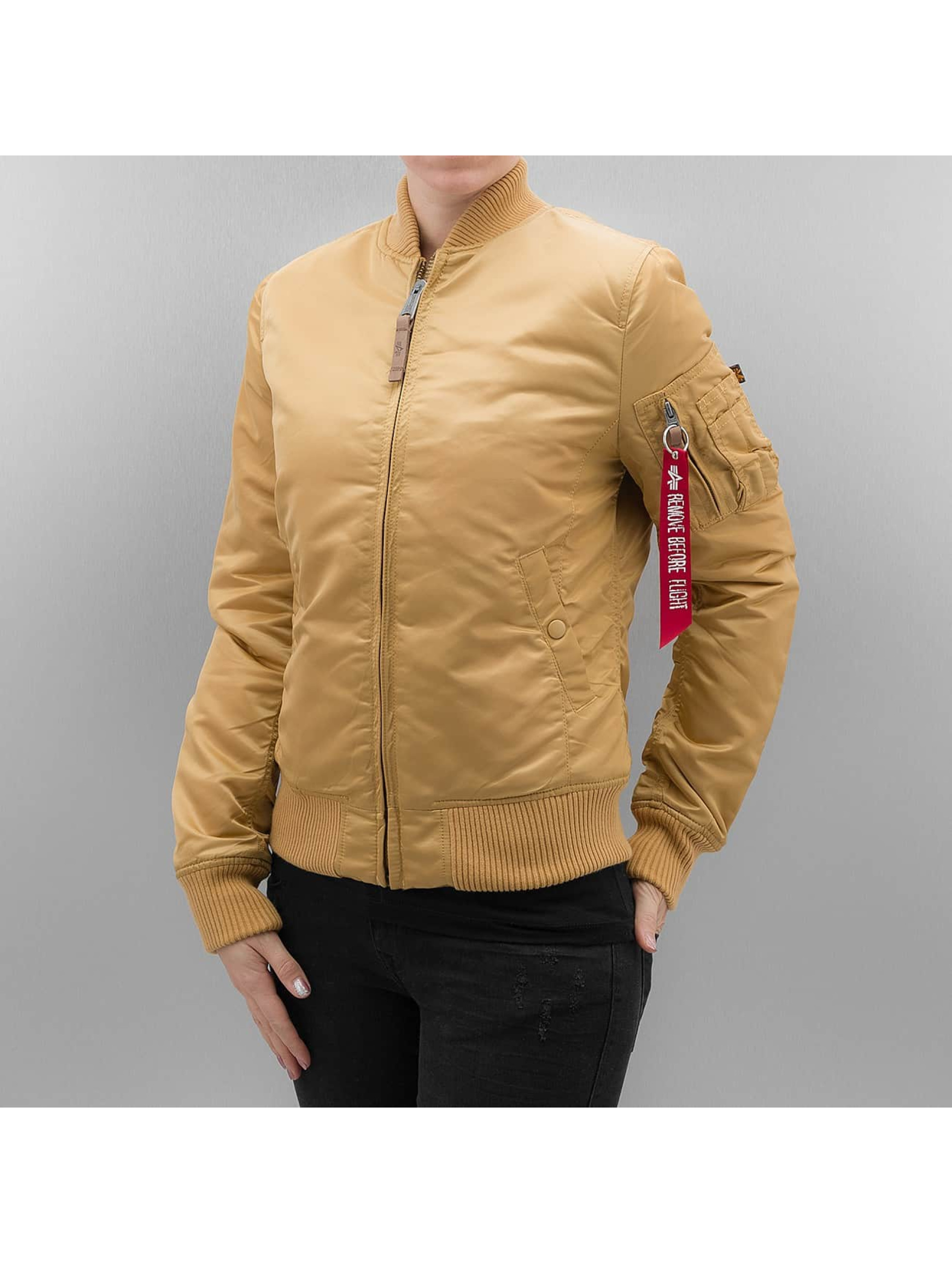 Alpha Industries Bomber jacket MA 1 VF 59 Women gold