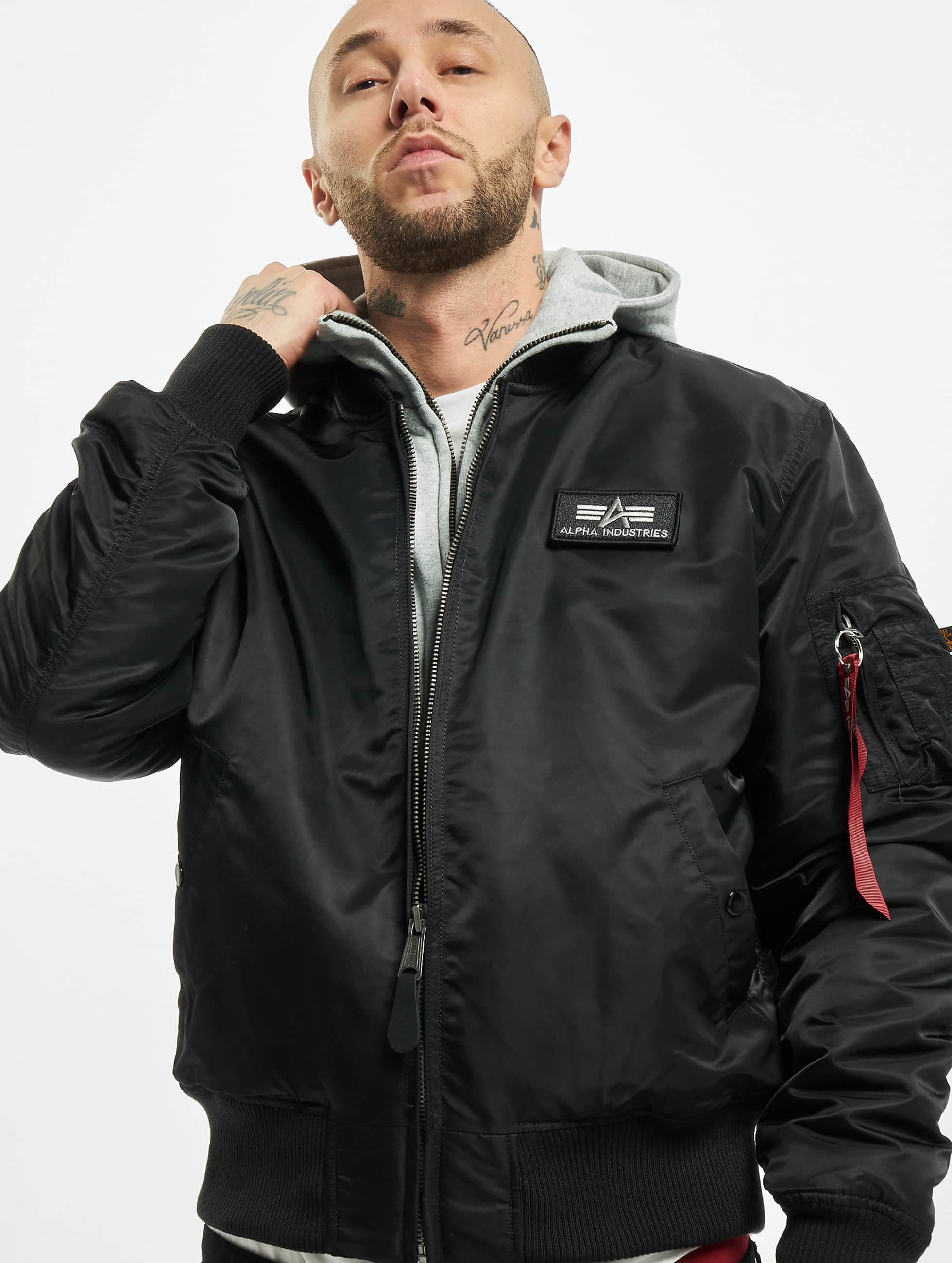 alpha industries herren bomberjacke ma 1 d tec se in. Black Bedroom Furniture Sets. Home Design Ideas