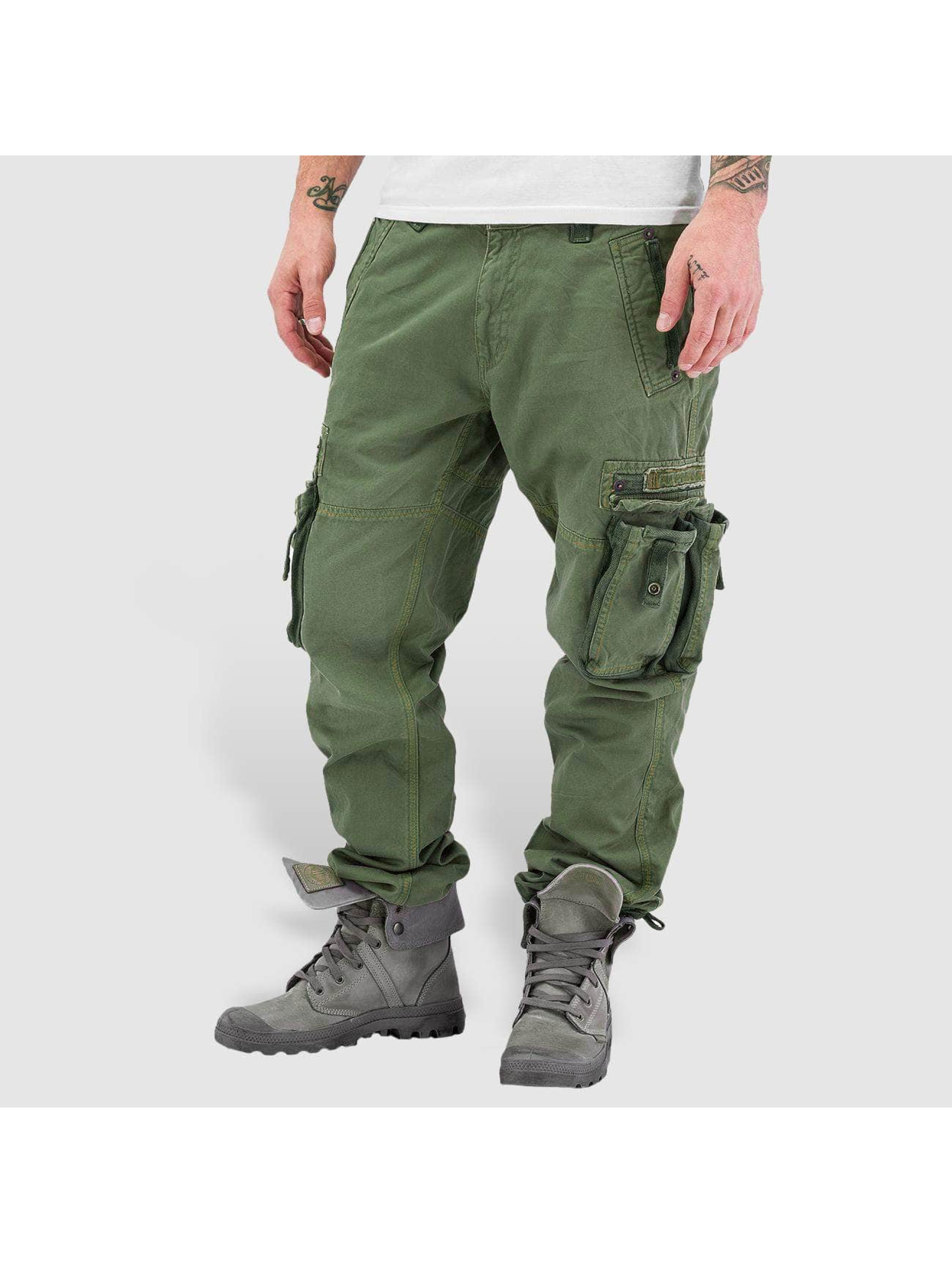 alpha industries herren cargohose tough in olive 35853