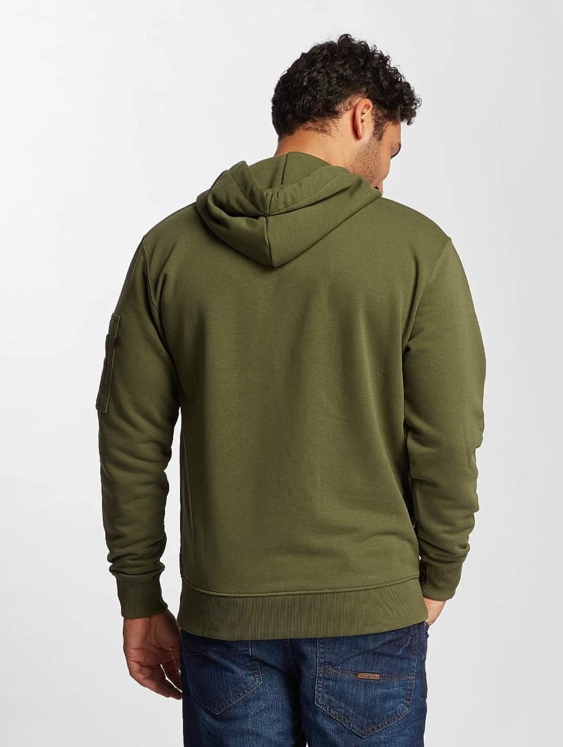 Alpha Industries Hoodie X-Fit green