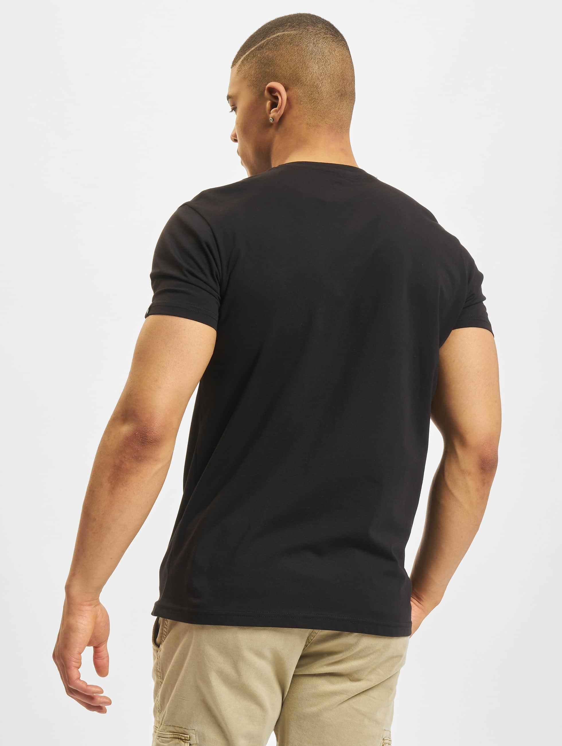 Alpha Industries T-Shirt NASA Reflective black