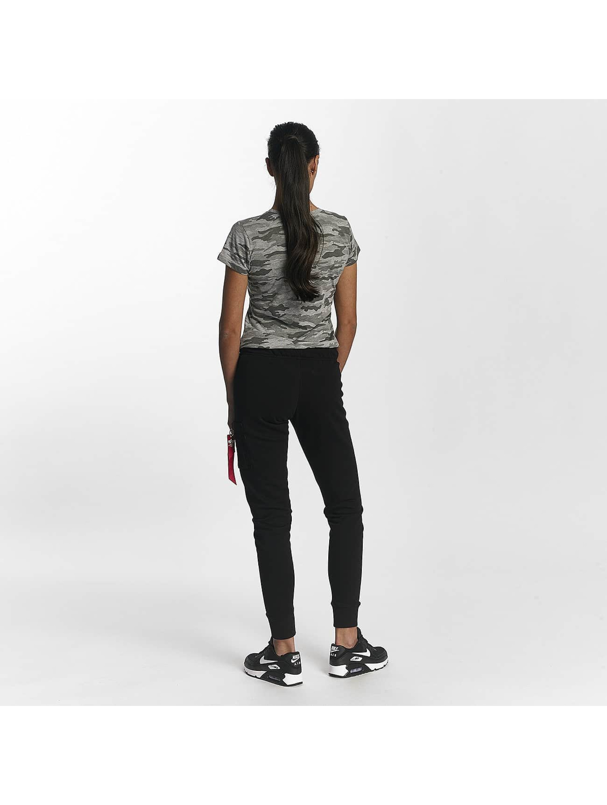 Alpha Industries T-Shirt Basic T Wmn gray