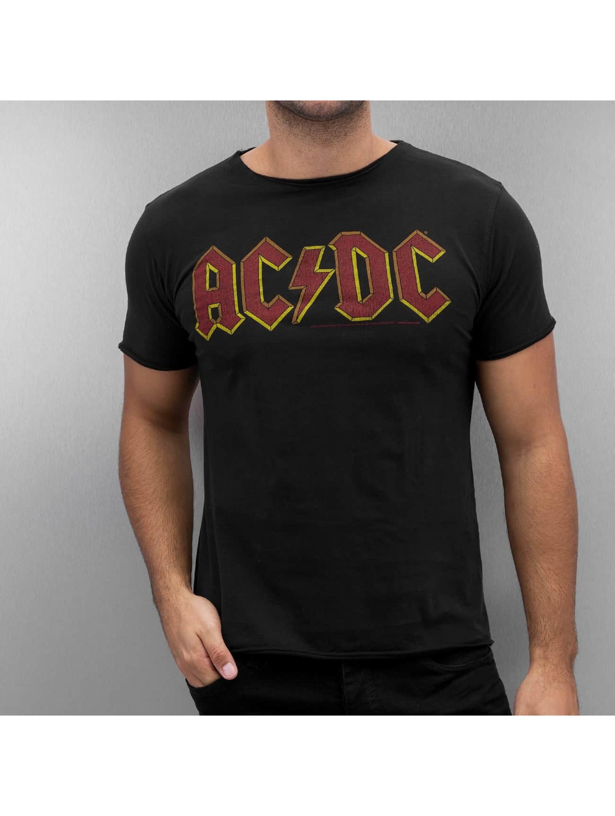 Amplified T-Shirt AC DC Logo black
