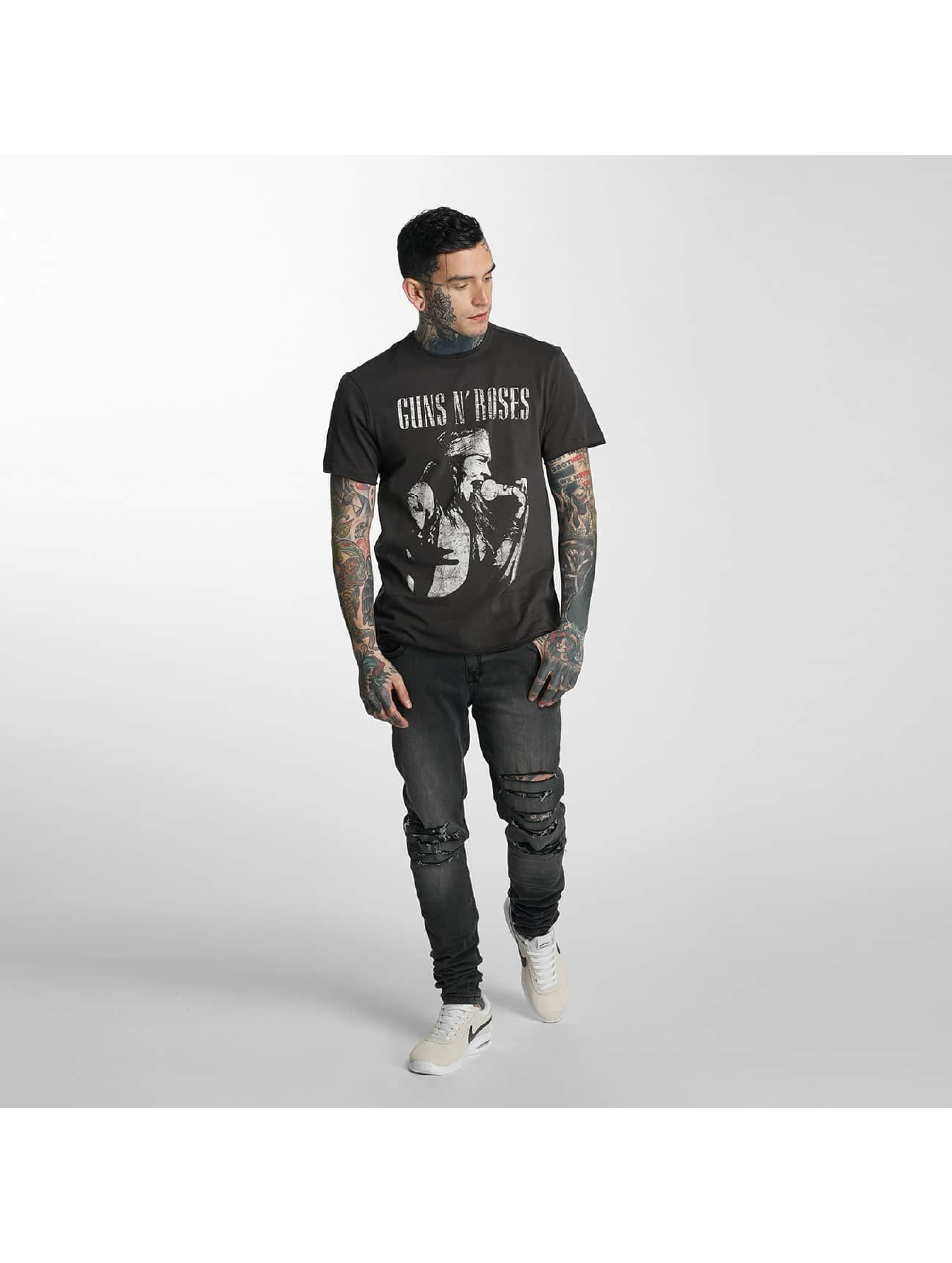 Amplified T-Shirt Guns & Roses Axel Life Profile gray