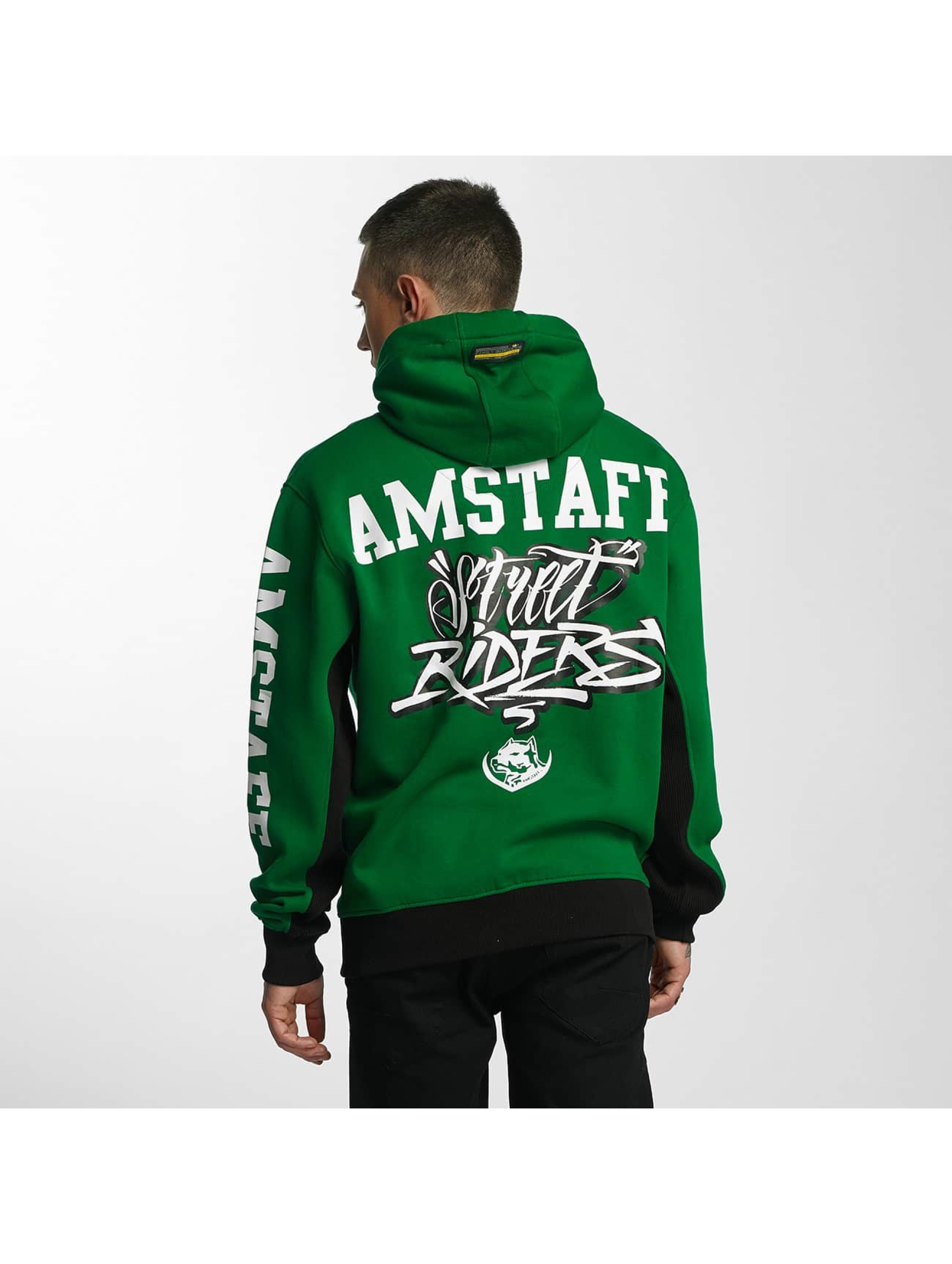 Amstaff Hoodie Aldor green