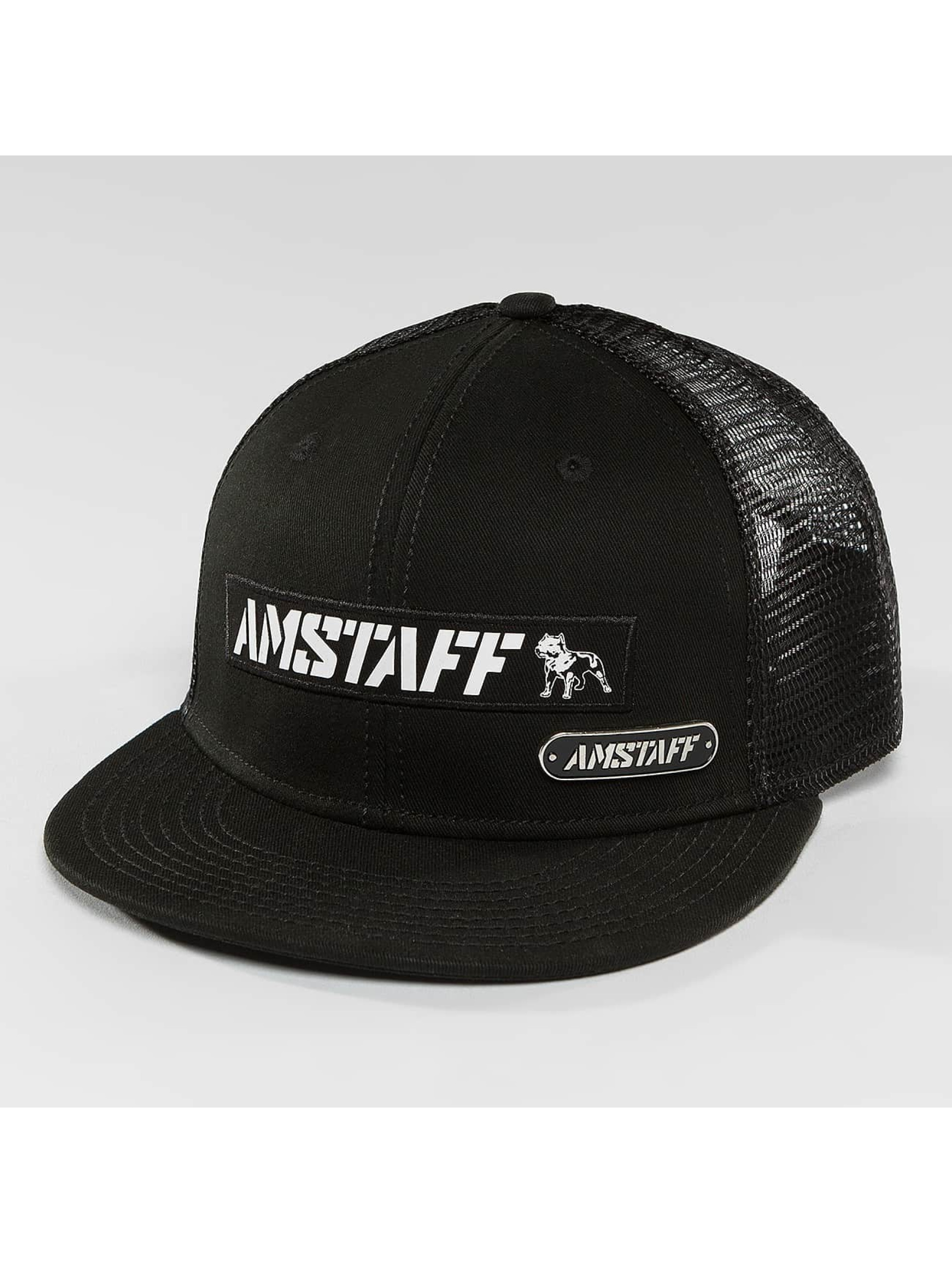 Amstaff Trucker Cap Eceno black