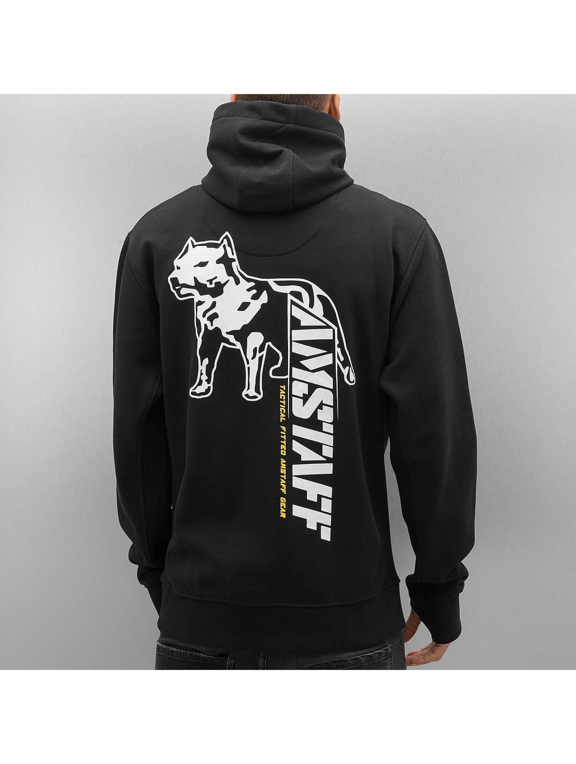 Amstaff Zip Hoodie Aranos black