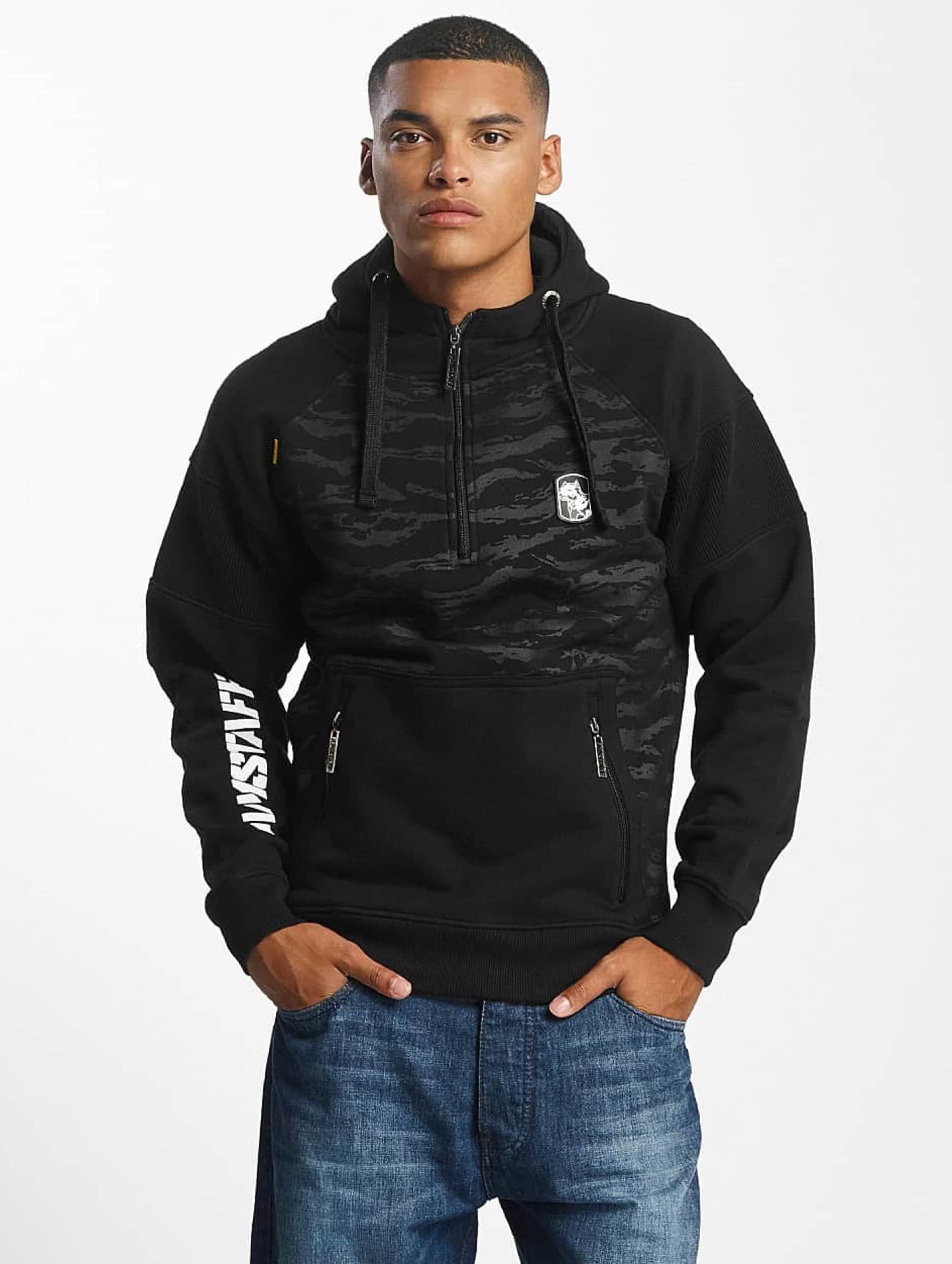 Amstaff Zip Hoodie Zervis black