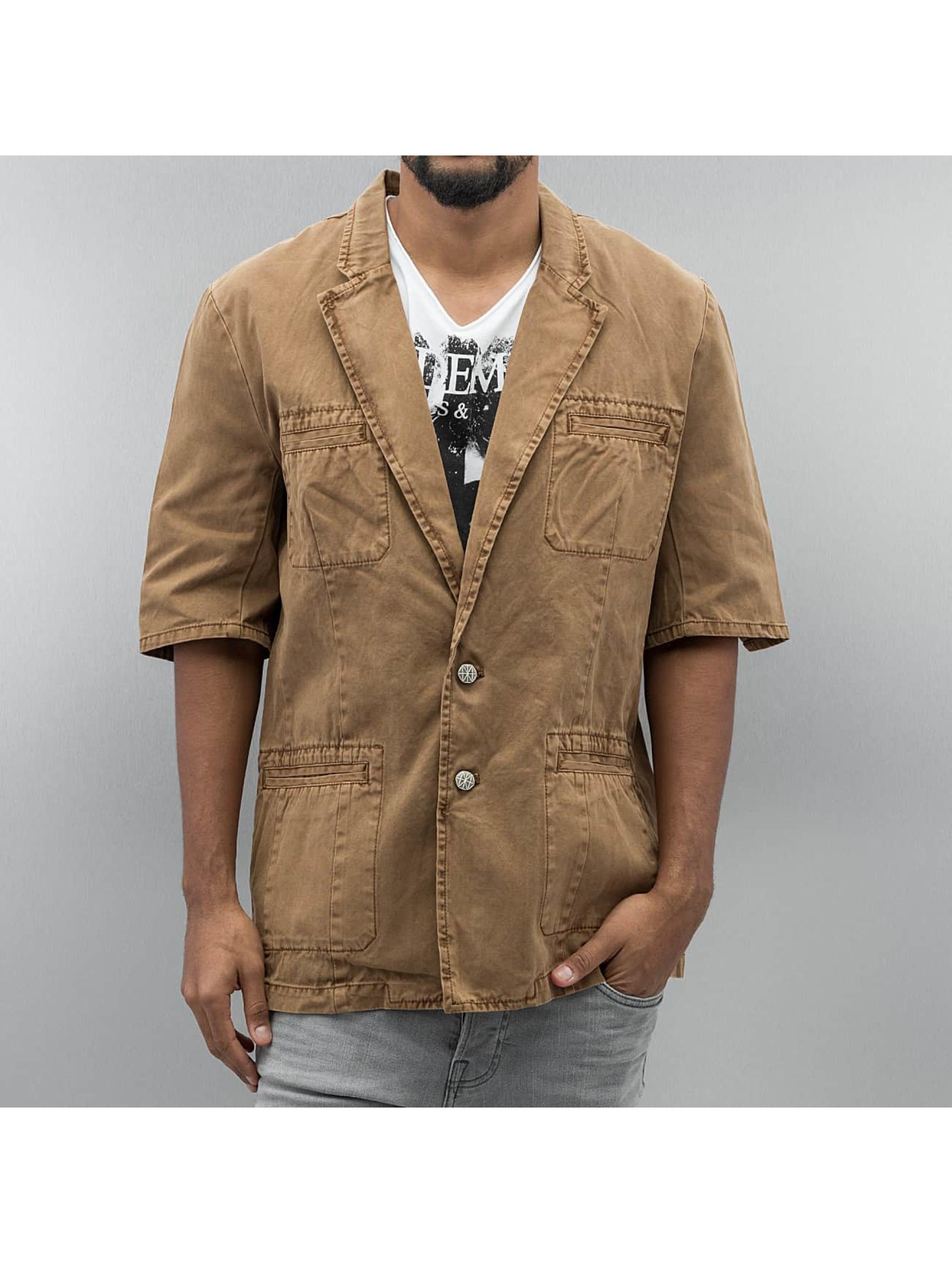 Amsterdenim Lightweight Jacket Sjaak brown