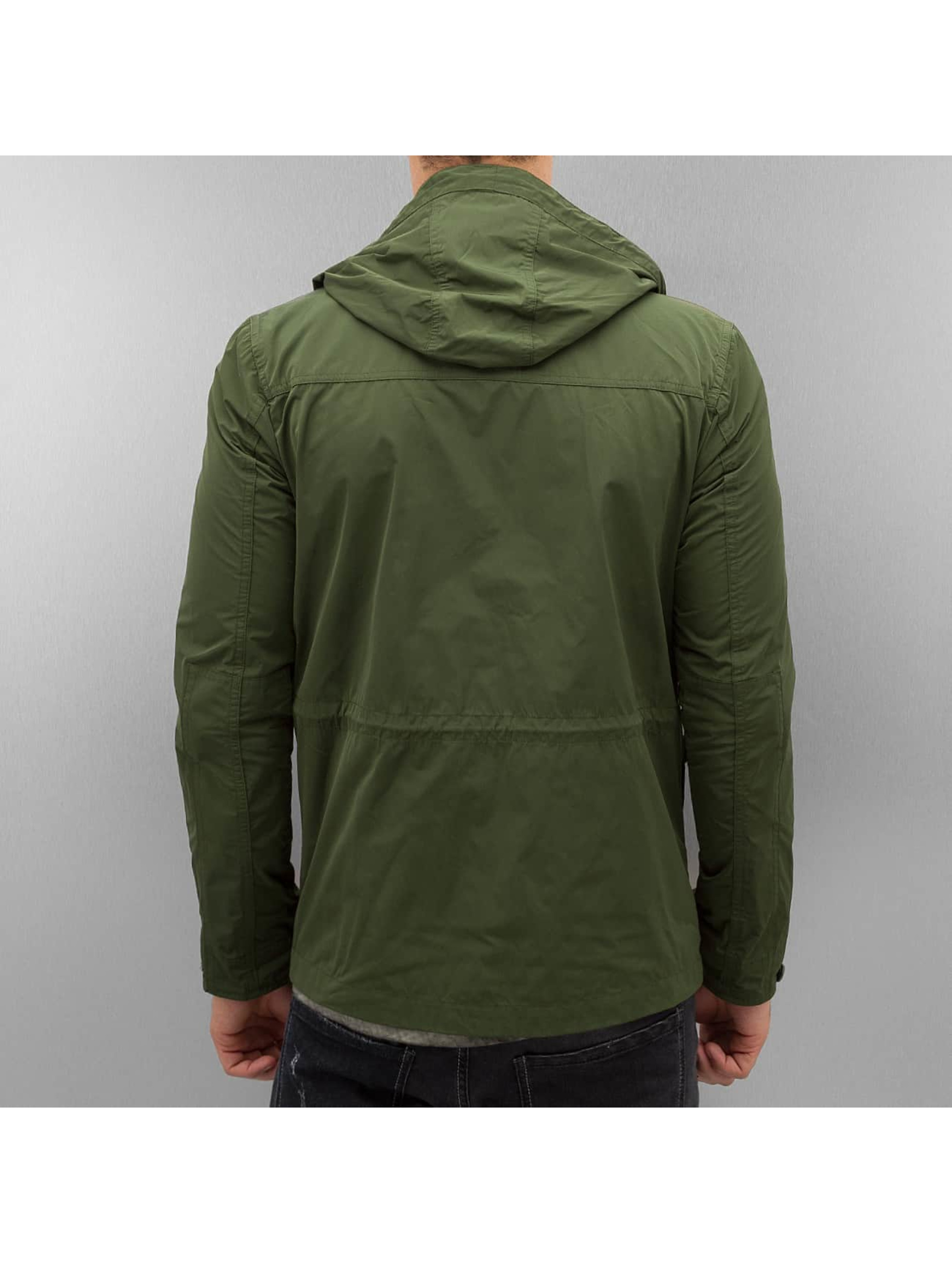 Amsterdenim Lightweight Jacket Sander green