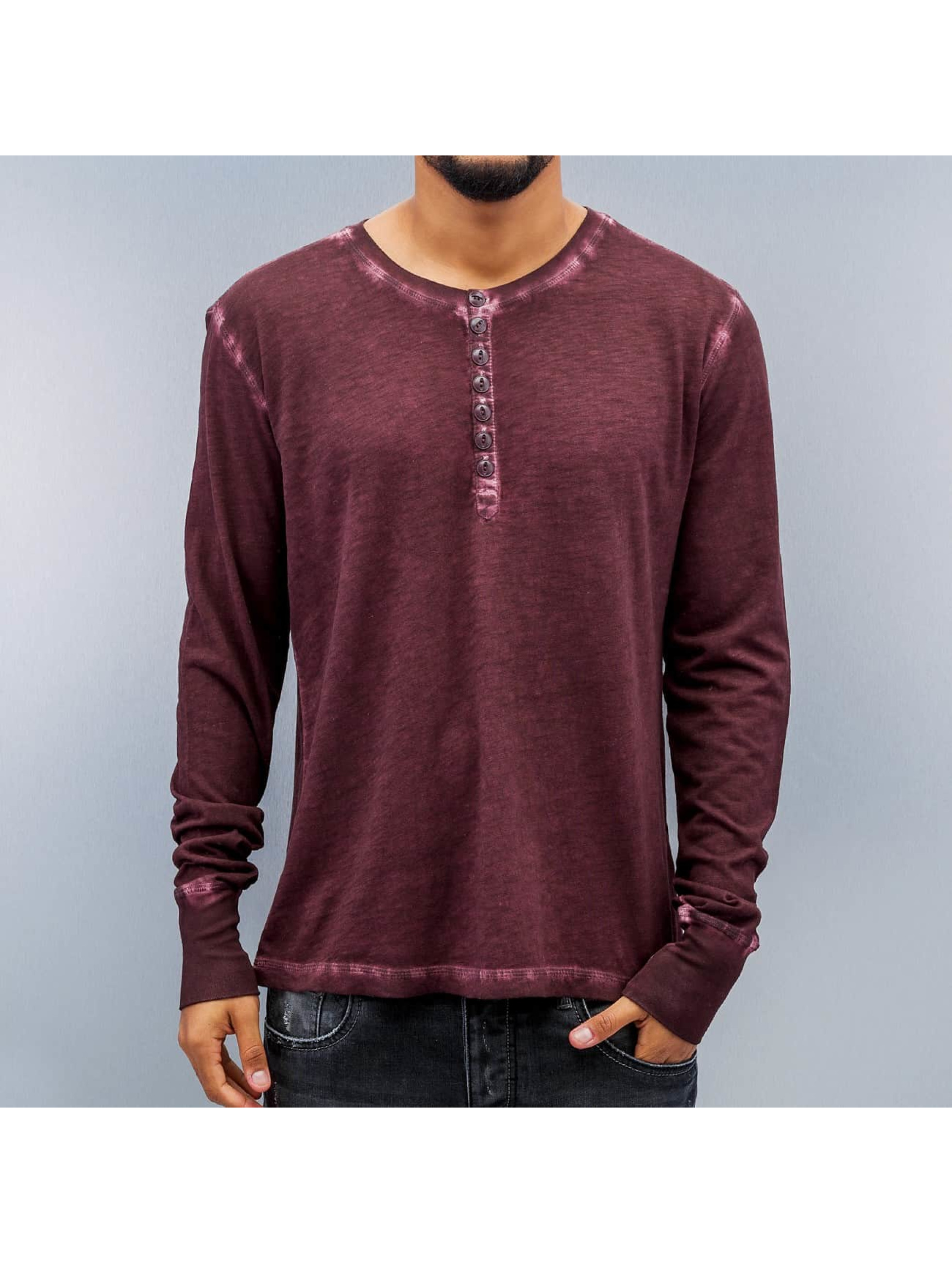 Amsterdenim Longsleeve Jeen Bridge red