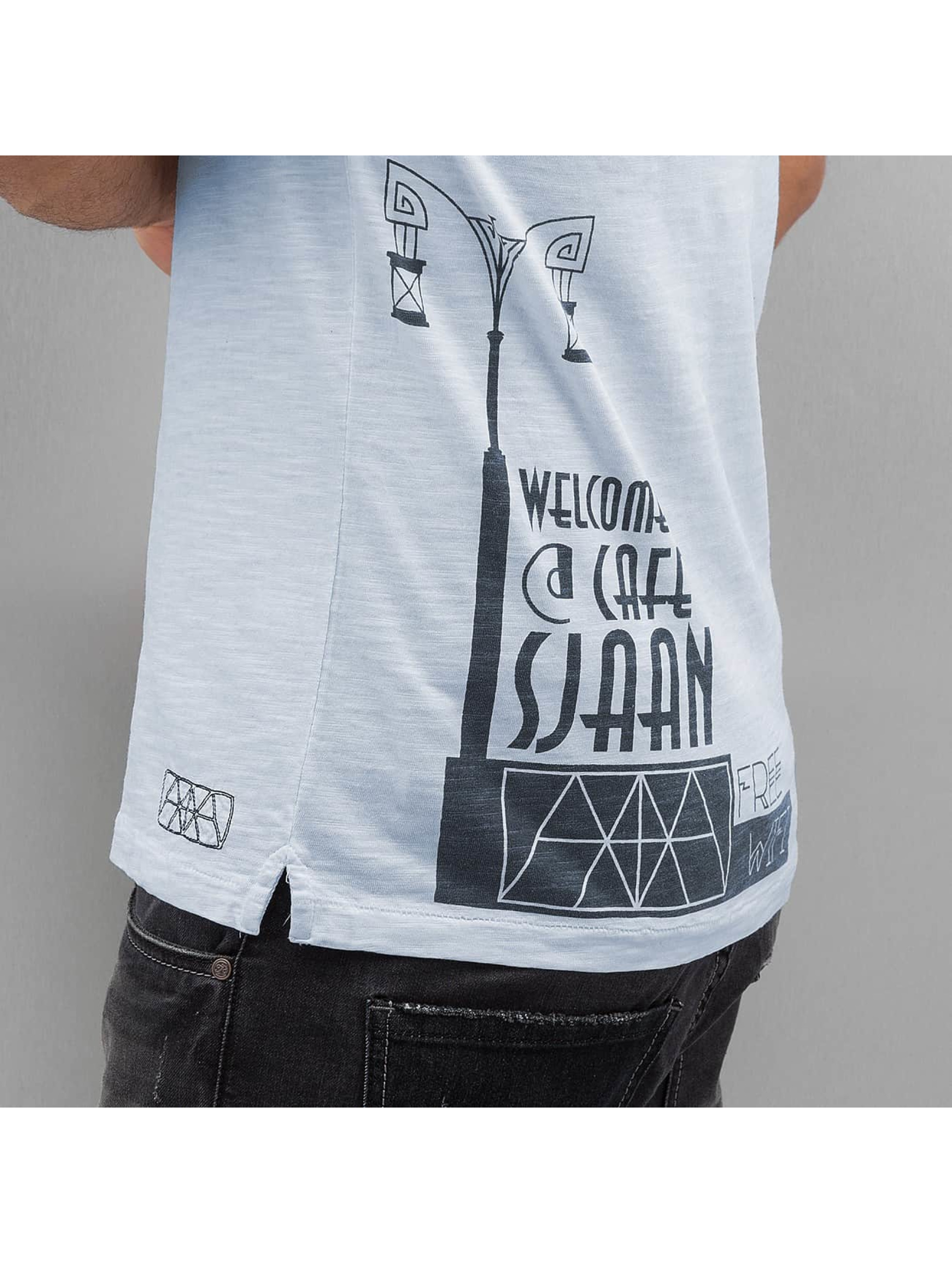 Amsterdenim T-Shirt Tommy Sjaan blue