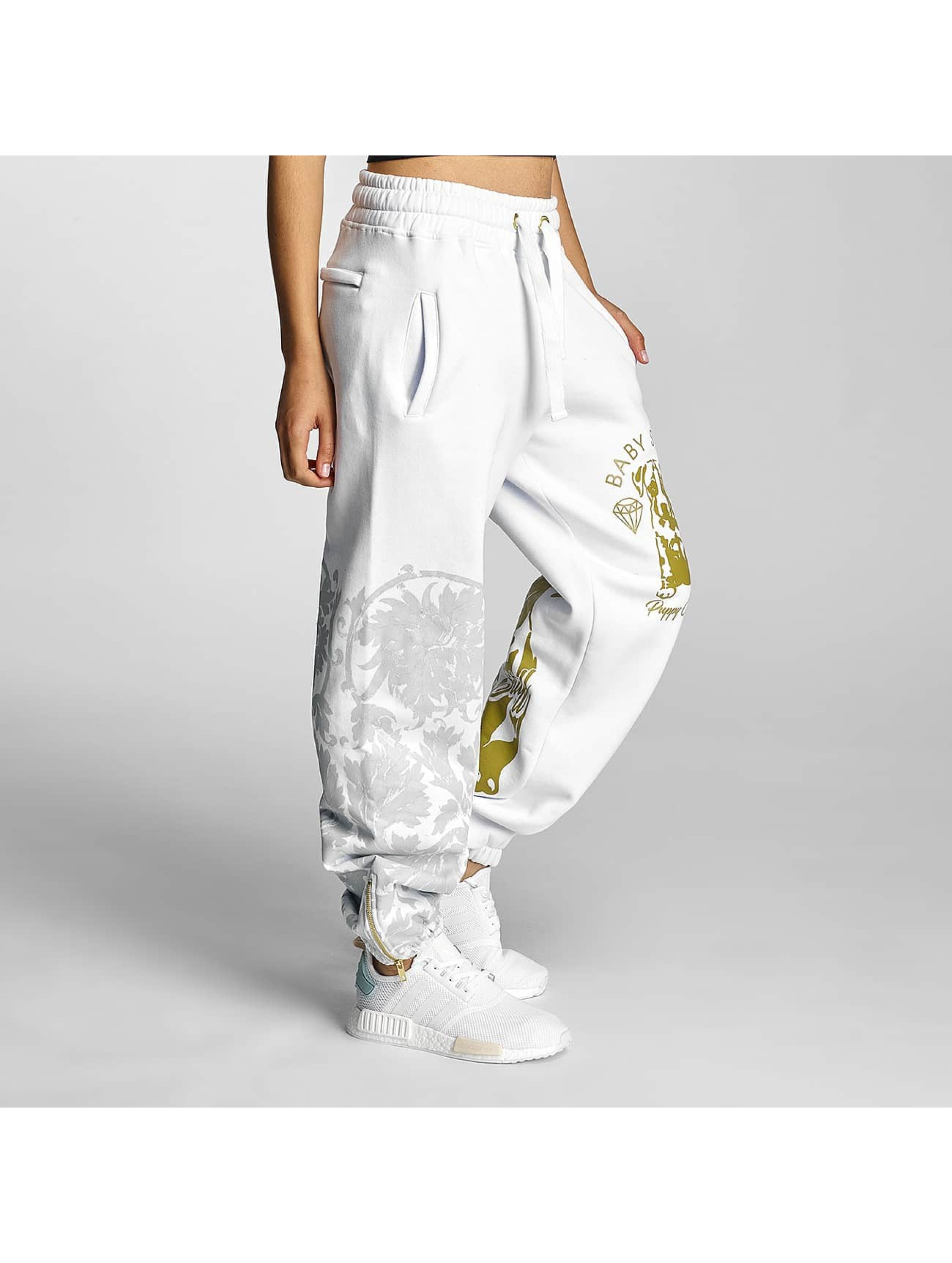 Babystaff Sweat Pant Nidra white