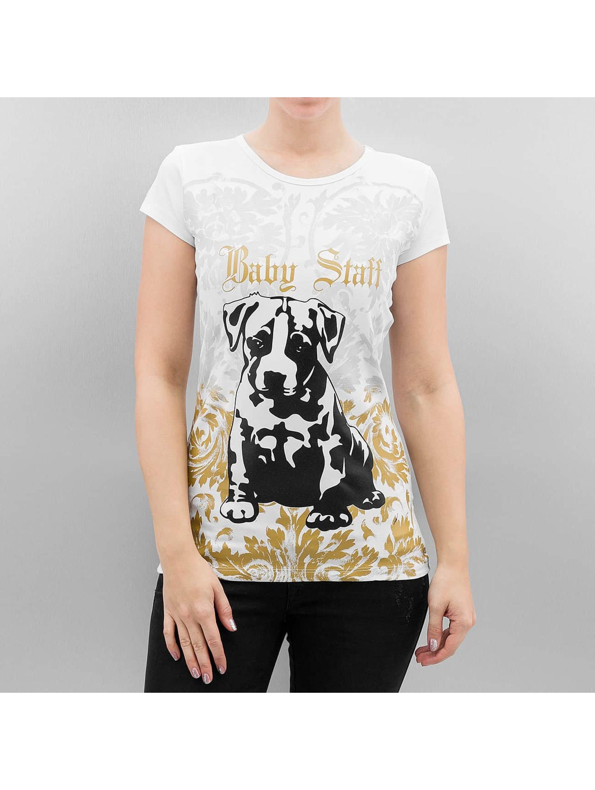 Babystaff T-Shirt Geza white