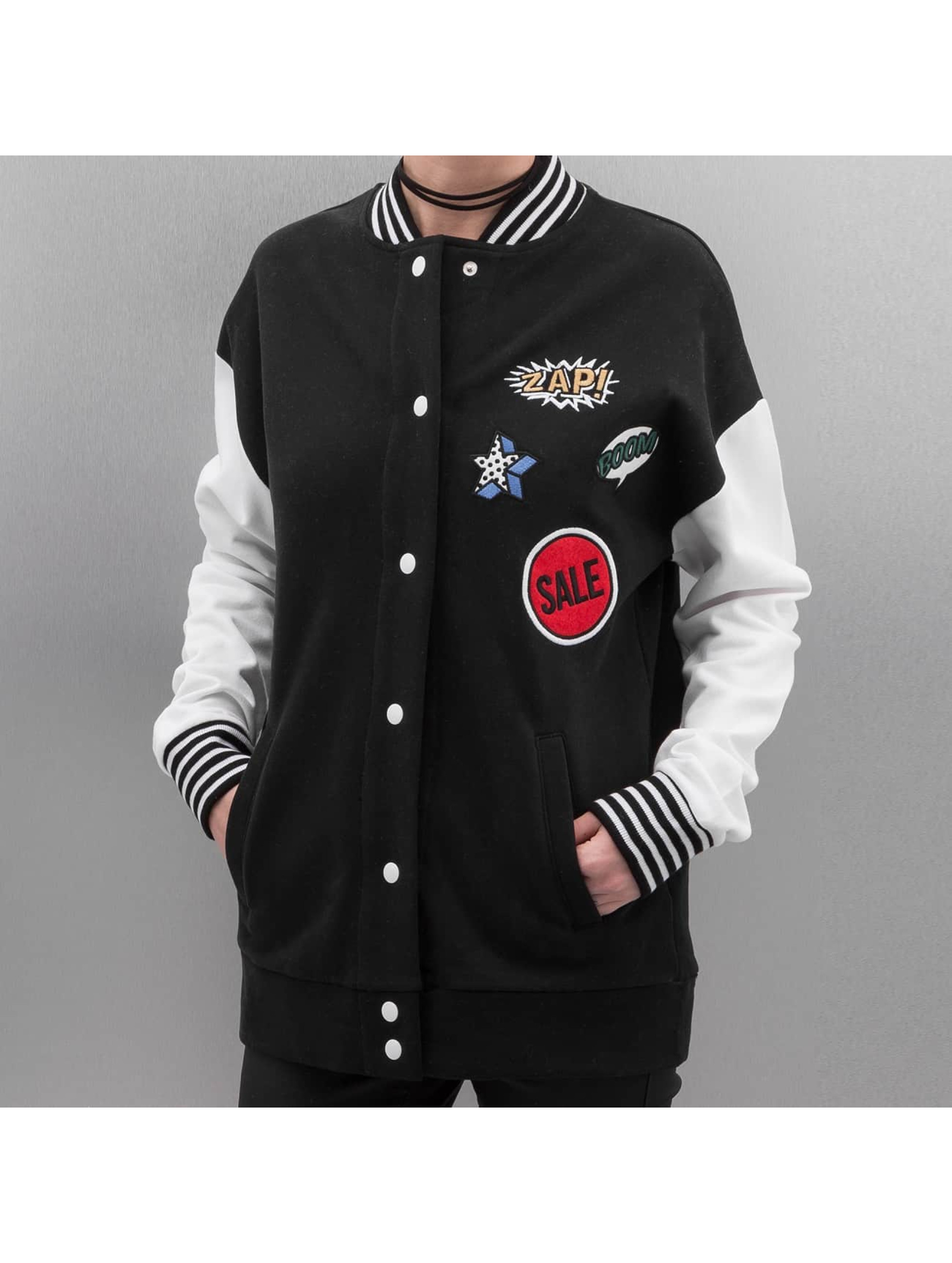 Bangastic College Jacket Laili black