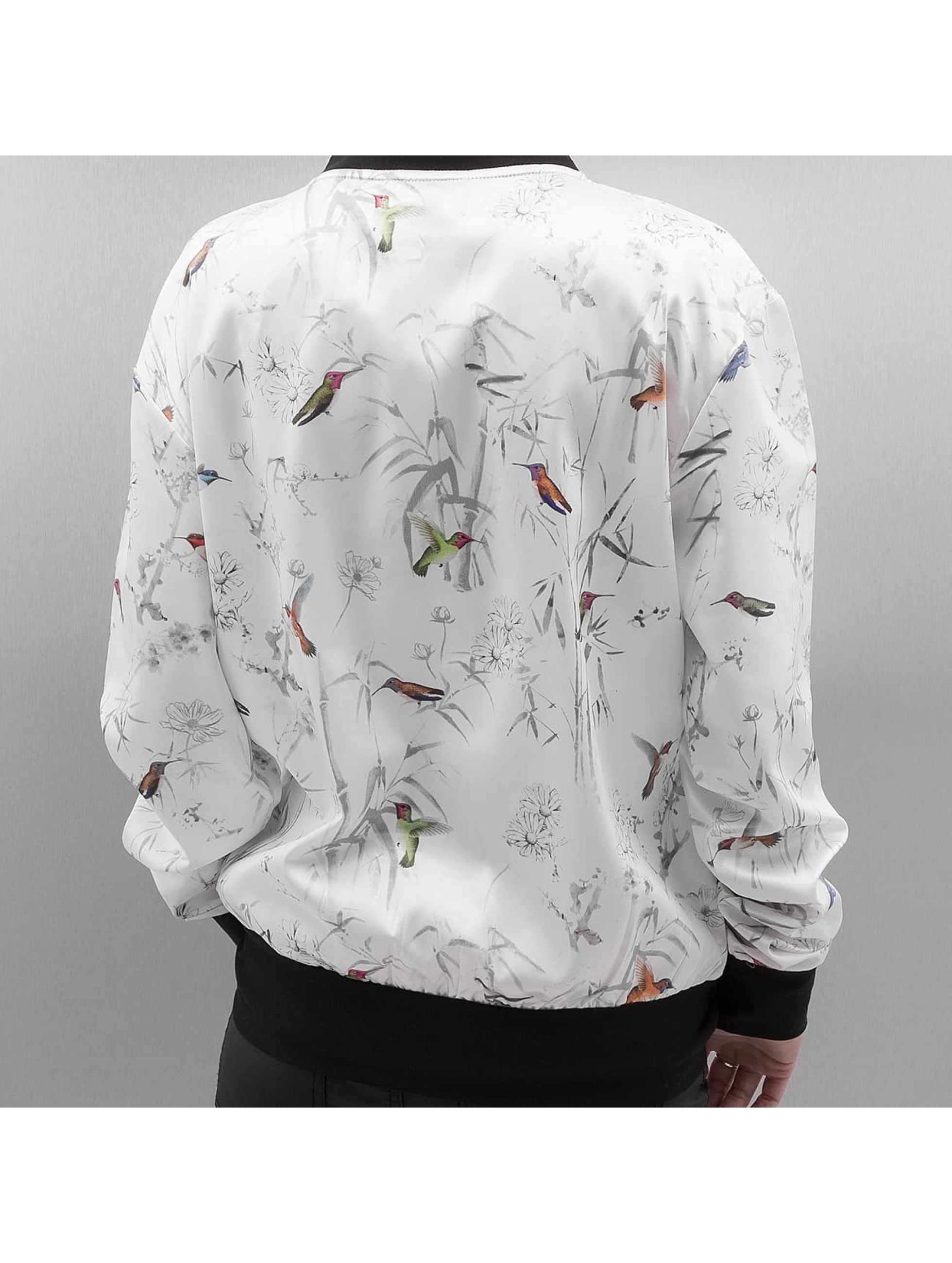 Bangastic College Jacket Humming Bird white