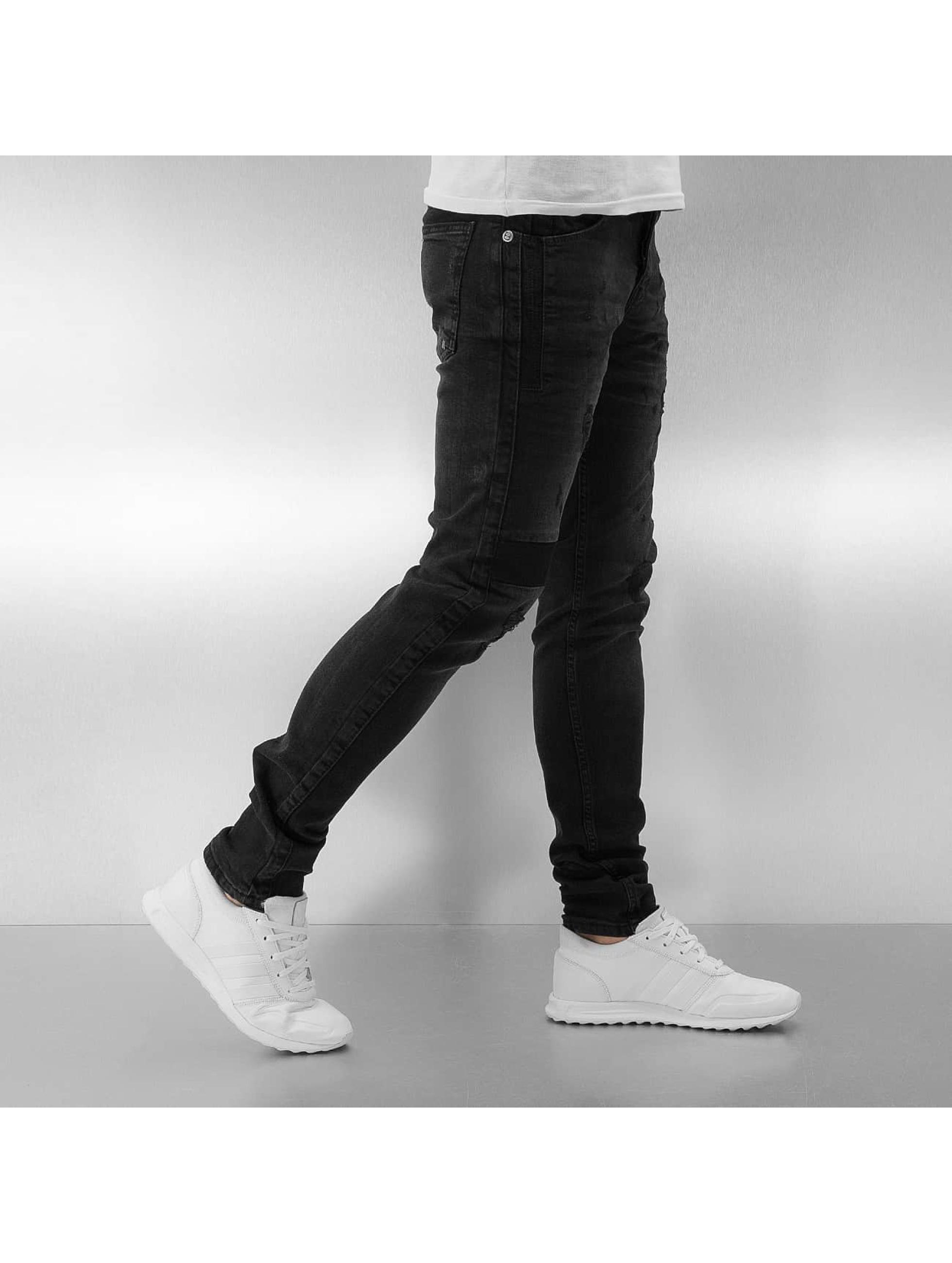 Bangastic Slim Fit Jeans Destro black