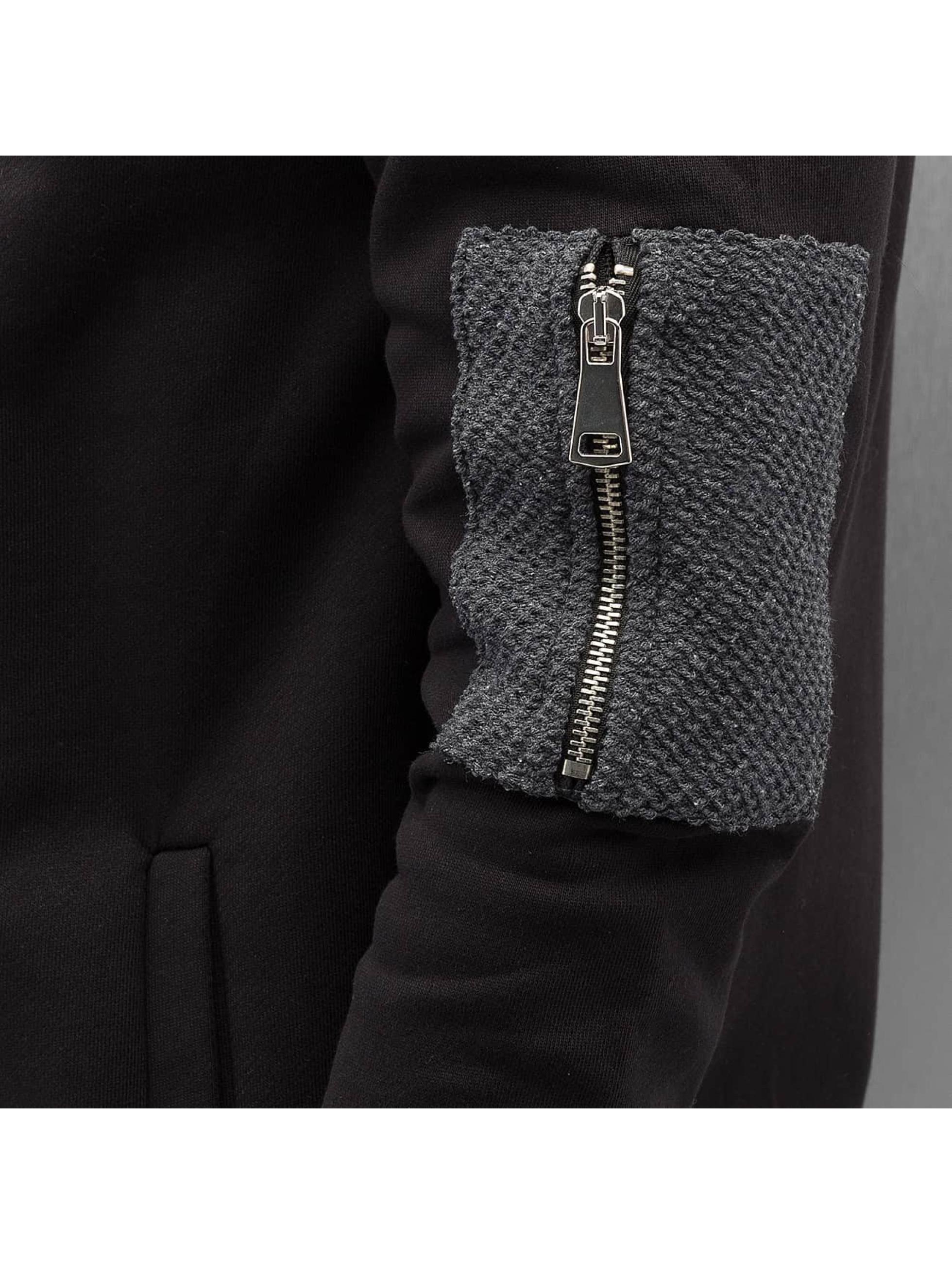 Bangastic Zip Hoodie Double black
