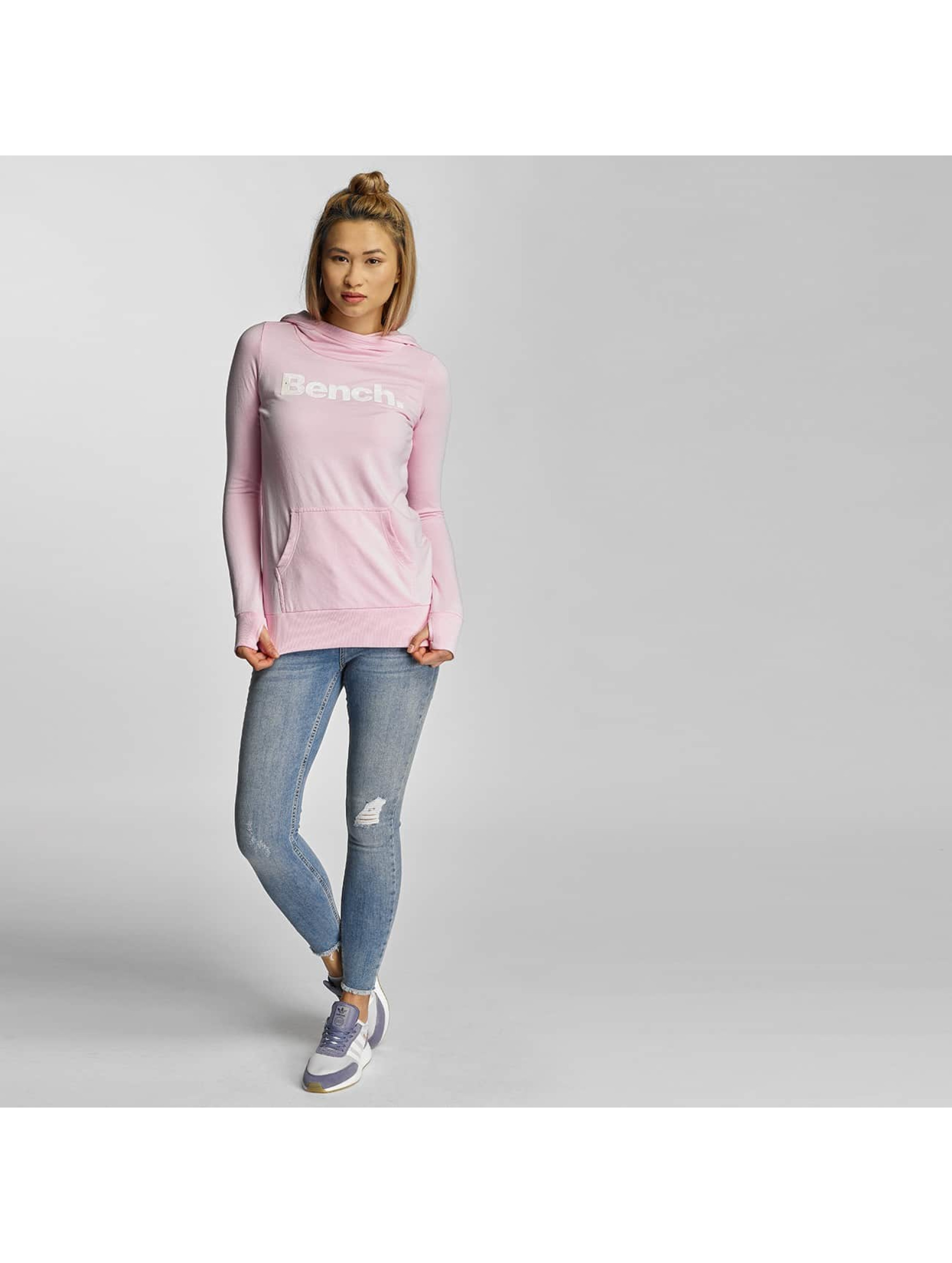 Bench Hoodie Corp Print pink