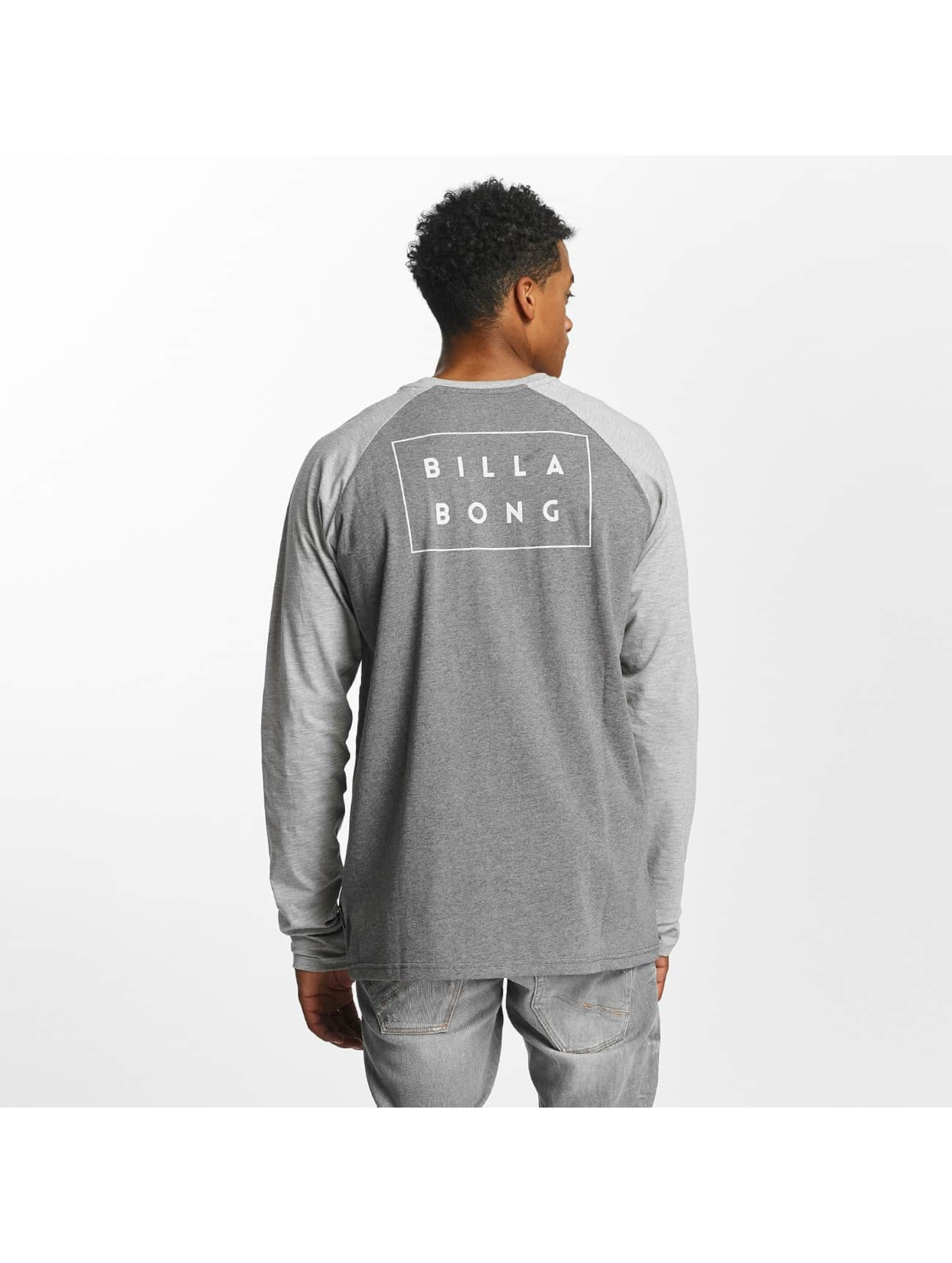 Billabong Longsleeve Die Cut gray