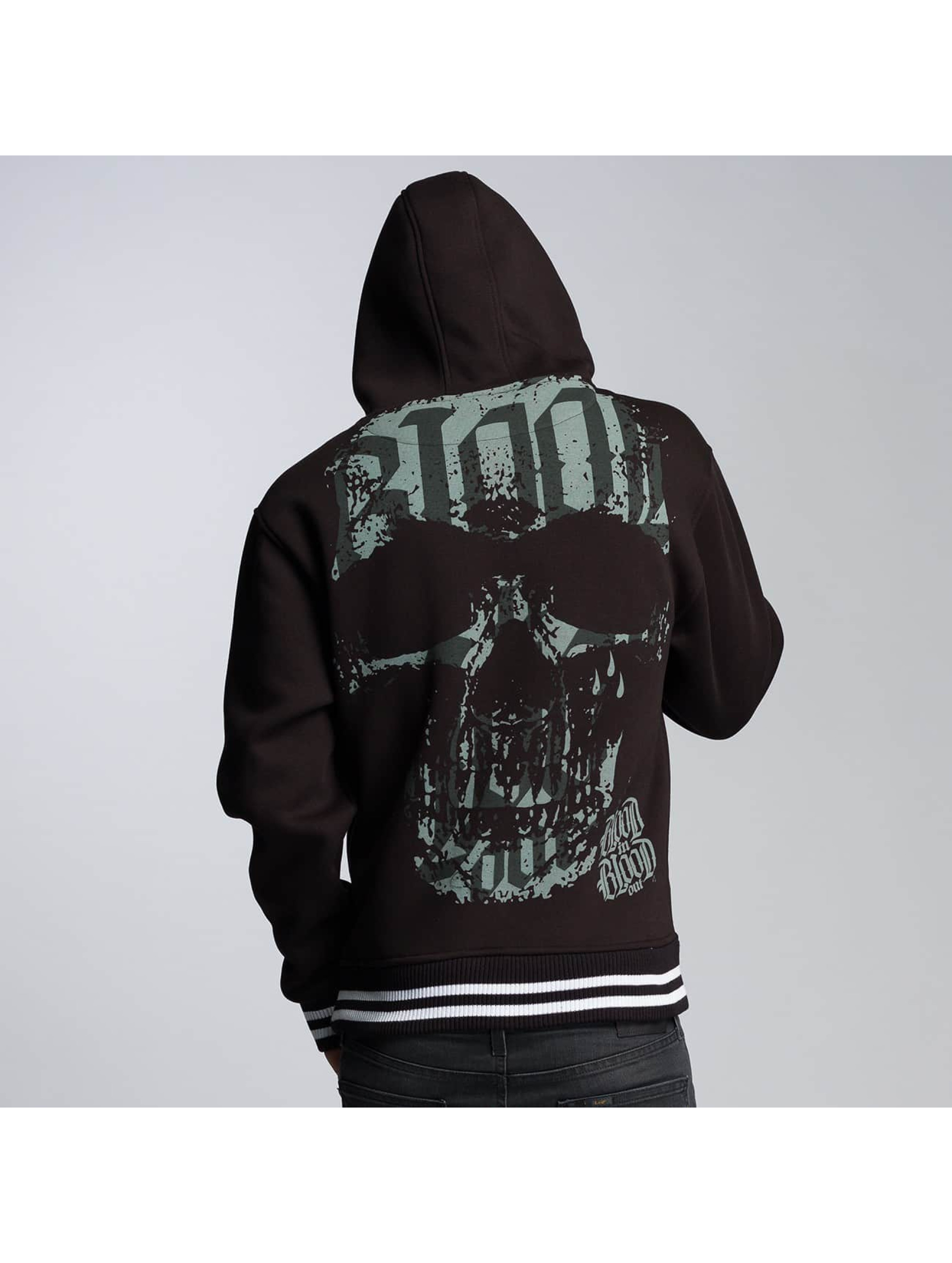 Blood In Blood Out Hoodie Calavera black