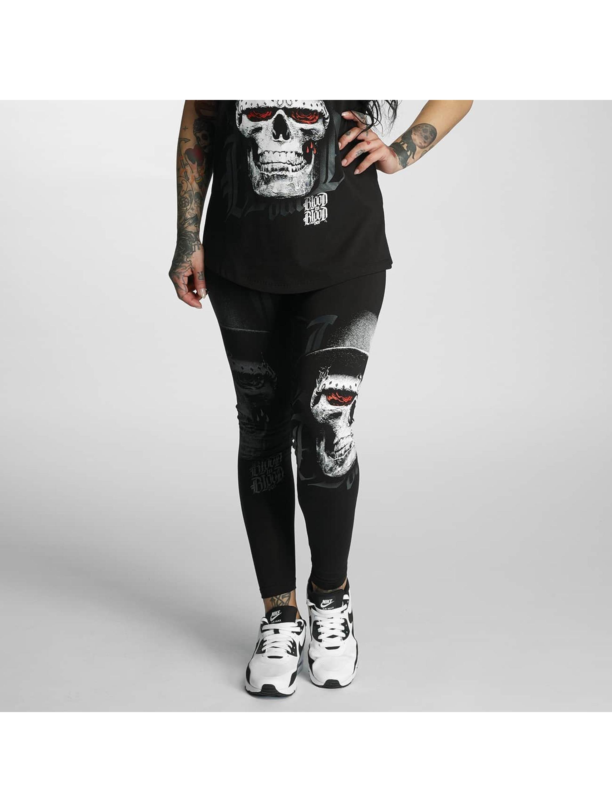 Blood In Blood Out Leggings/Treggings Skull Hat black