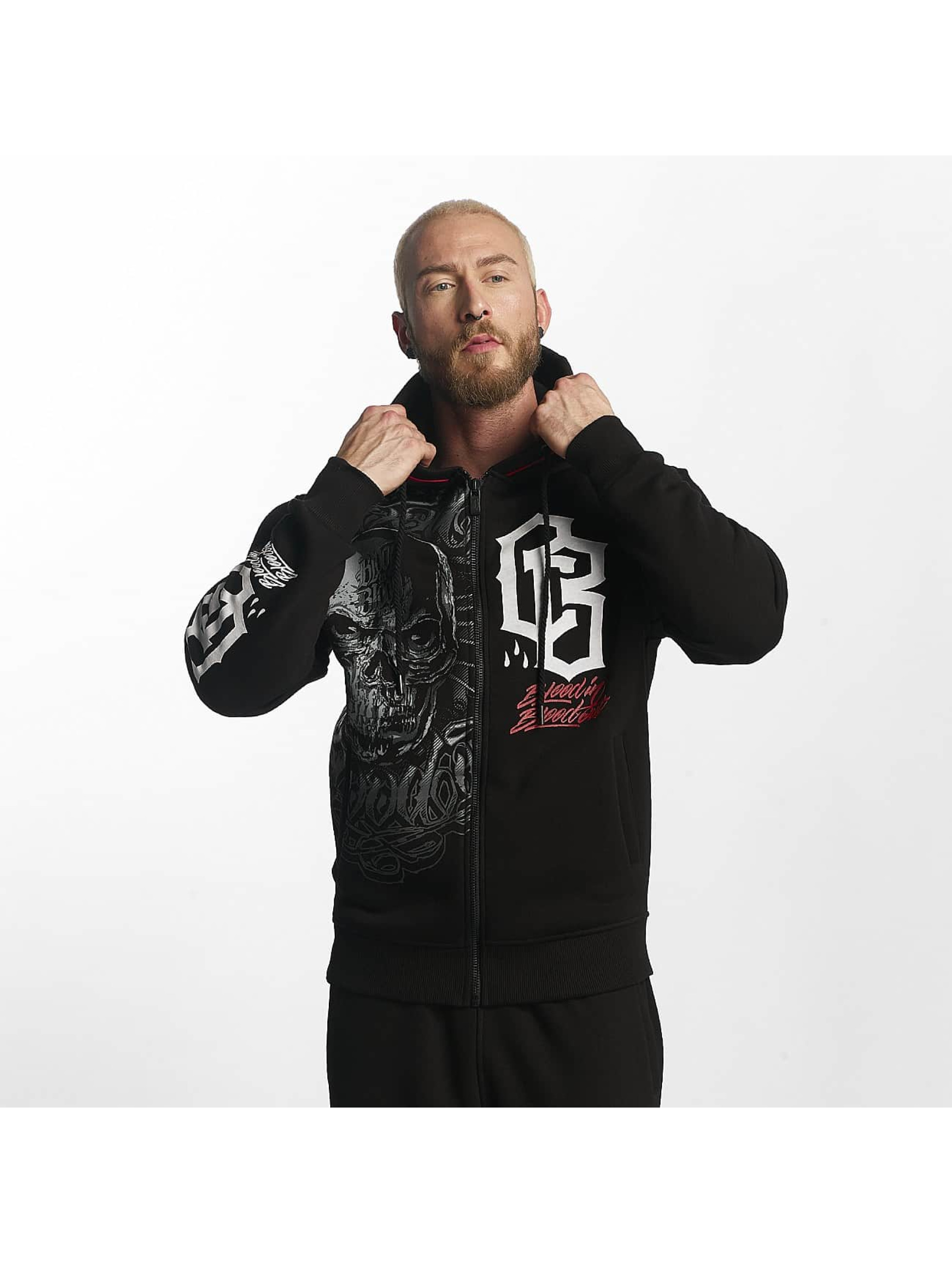Blood In Blood Out Zip Hoodie Infernal black