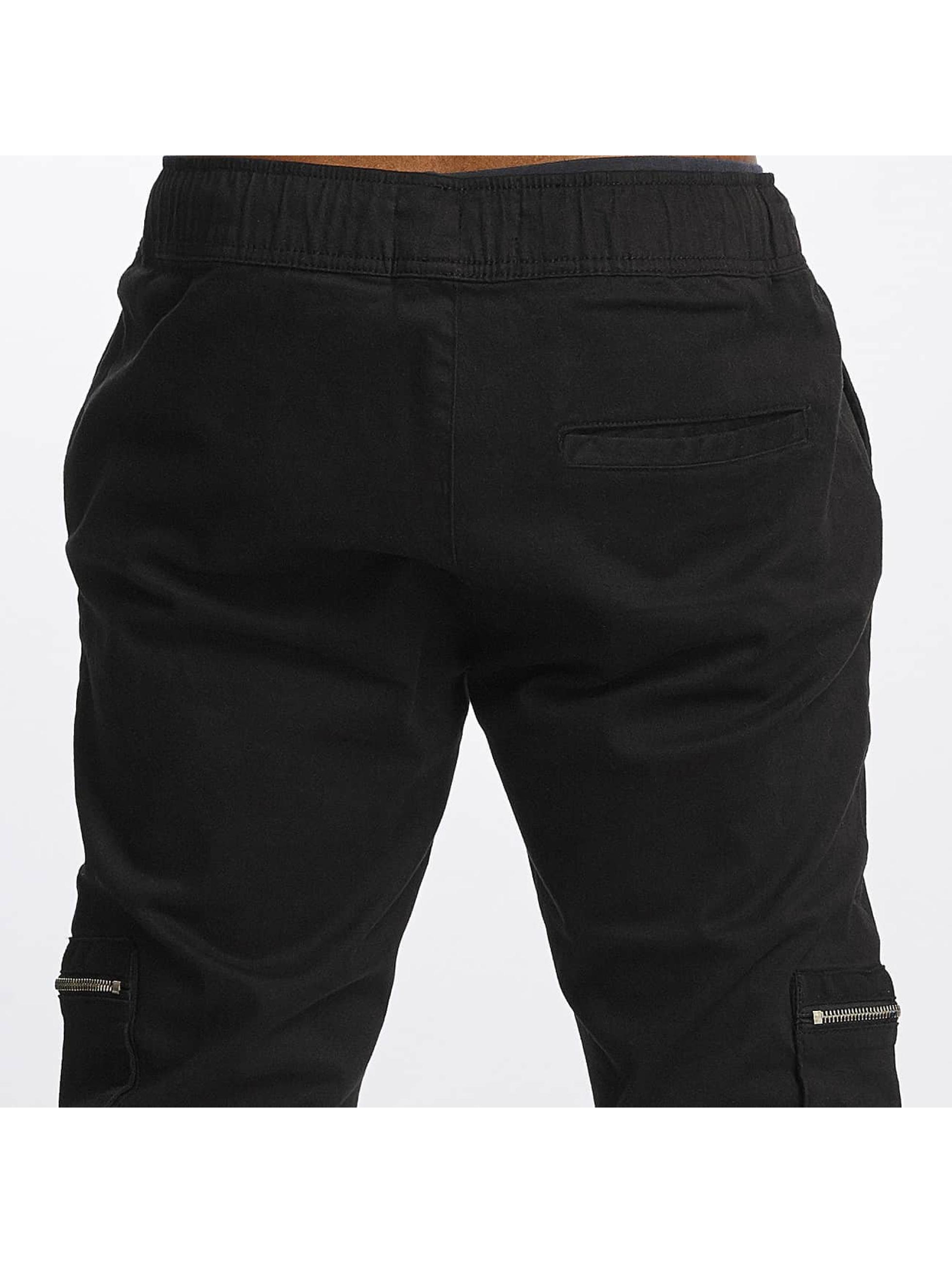 Brave Soul Cargo pants Night Addict black