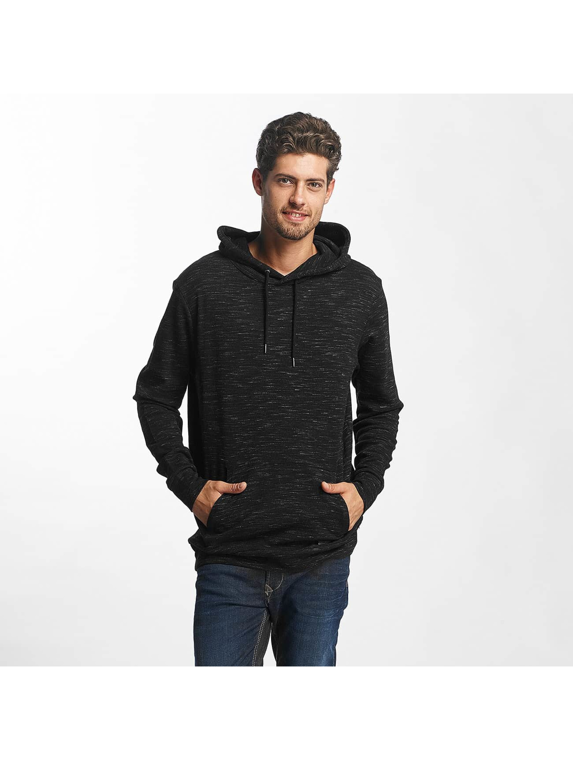 Brave Soul Hoodie Clash Overhead with Kangaroo black